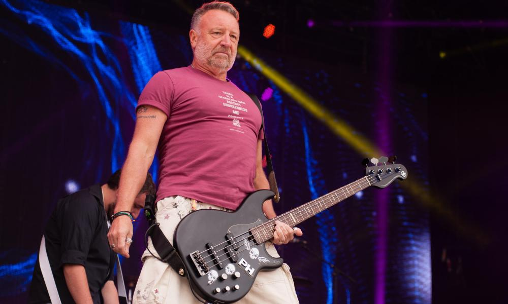 Out of Order: freelance Freebass member Peter Hook plays with his band the Light at the Rewind North Festival, August, 2017.