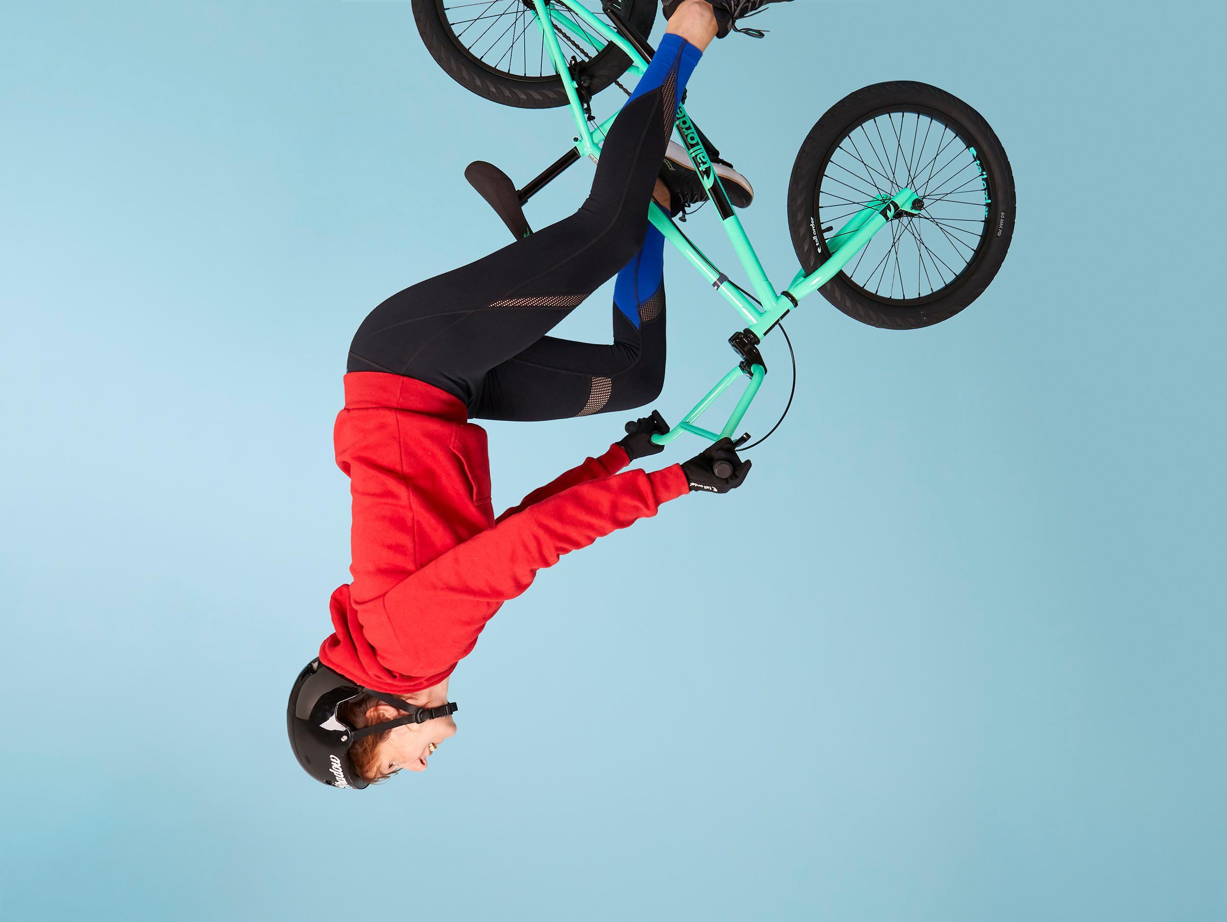 Fit in my 40s: am I too old to be practising BMX in the park?