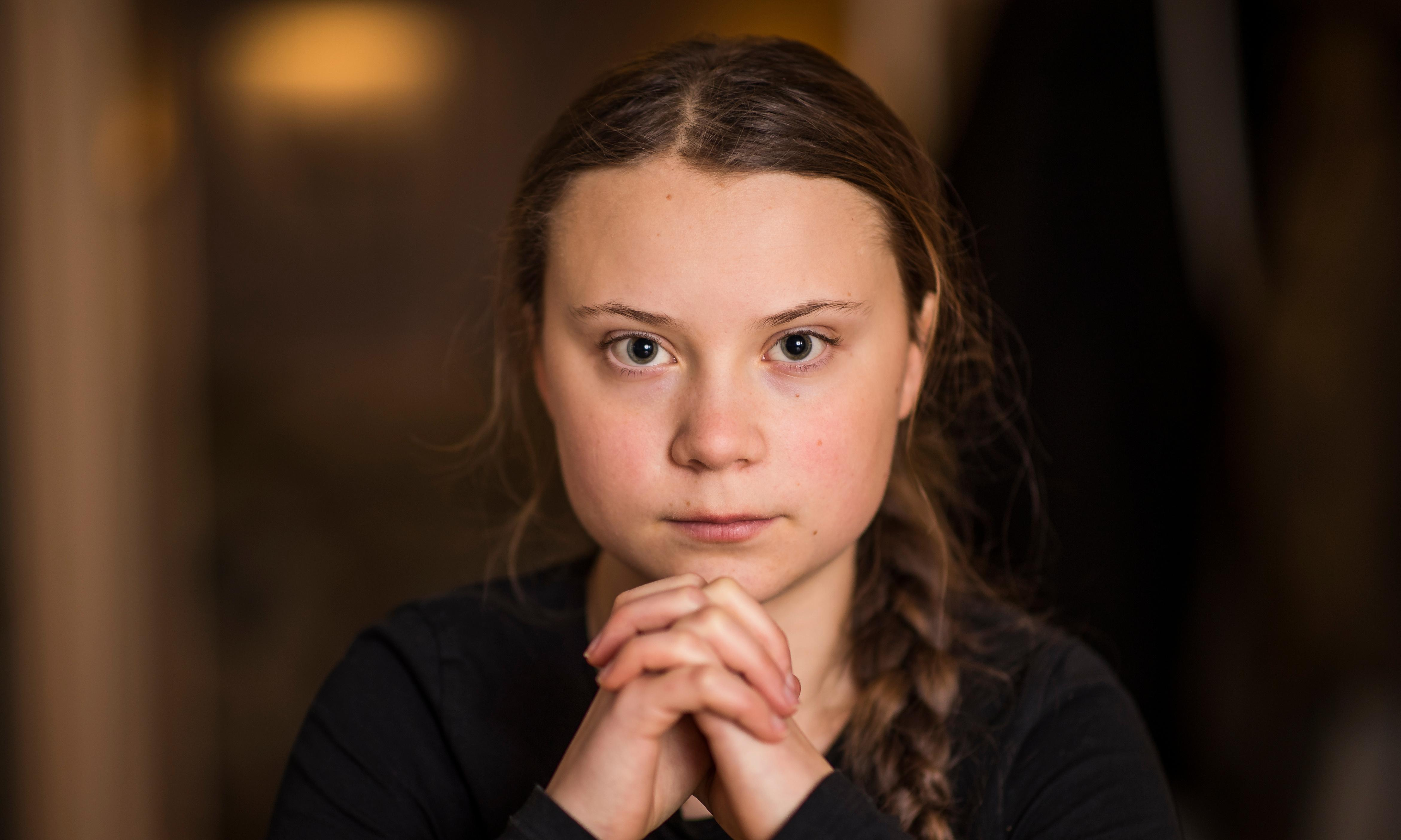 Greta Thunberg, schoolgirl climate change warrior: 'Some people can let things go. I can't'
