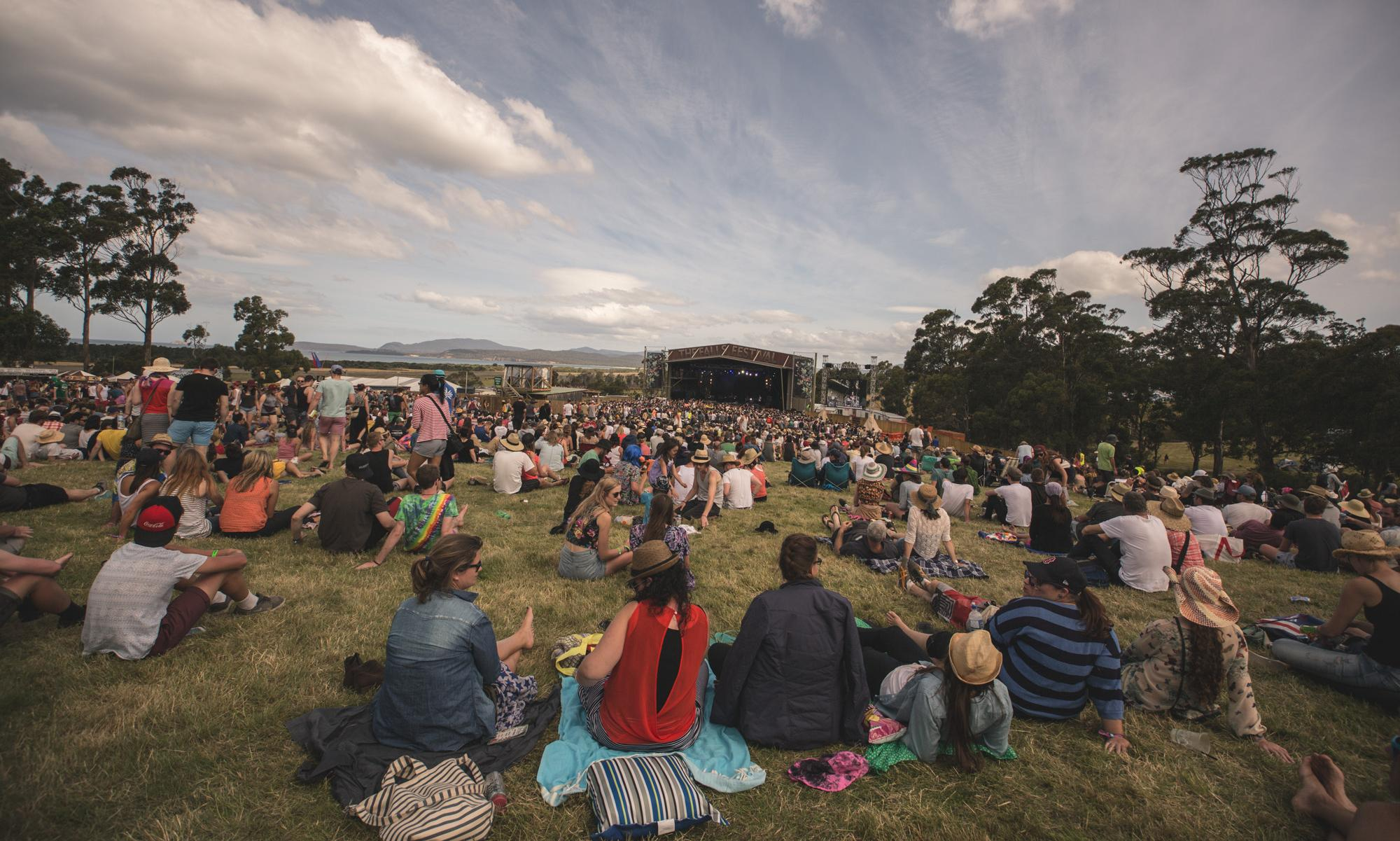 Falls festival: woman allegedly assaulted in mosh pit performed citizen's arrest