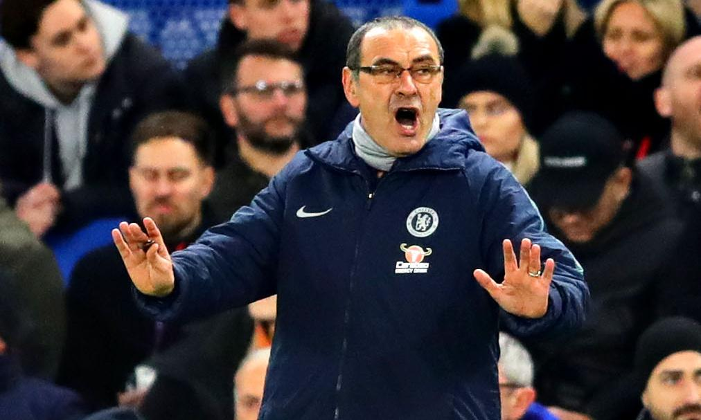 Maurizio Sarri clings on to job after furious Chelsea fans lose patience