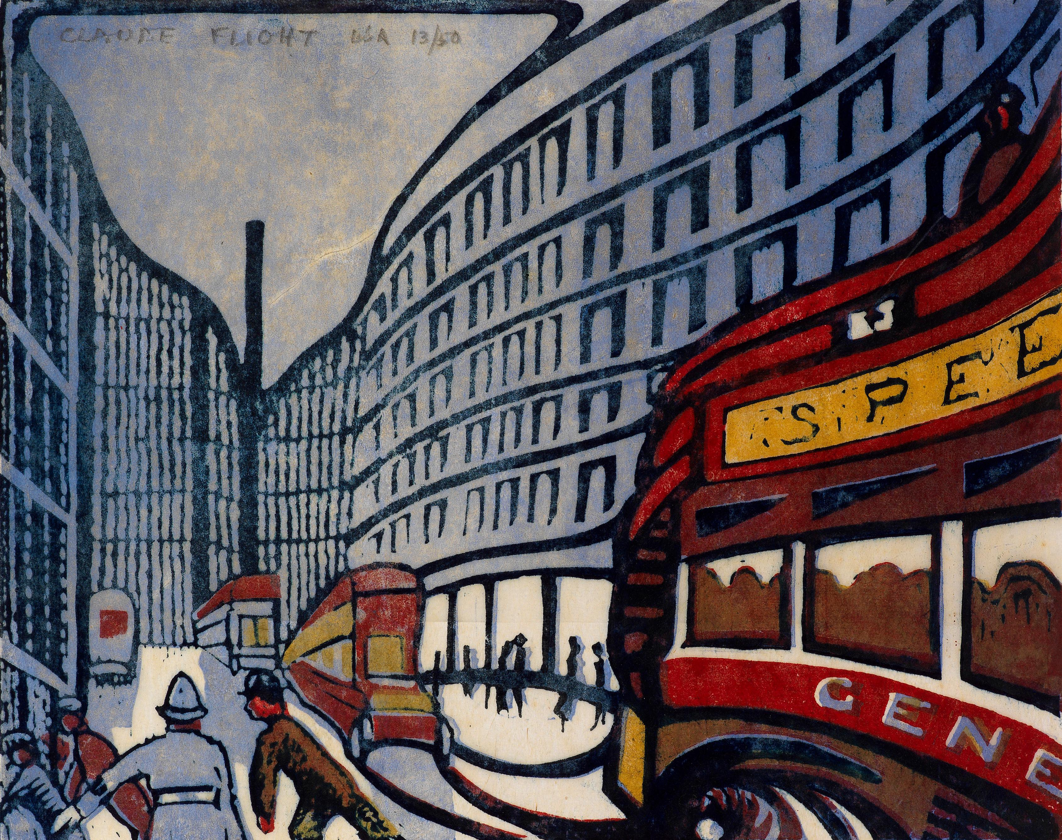 Cutting Edge: Modernist British Printmaking review – into the fast lane with humble lino
