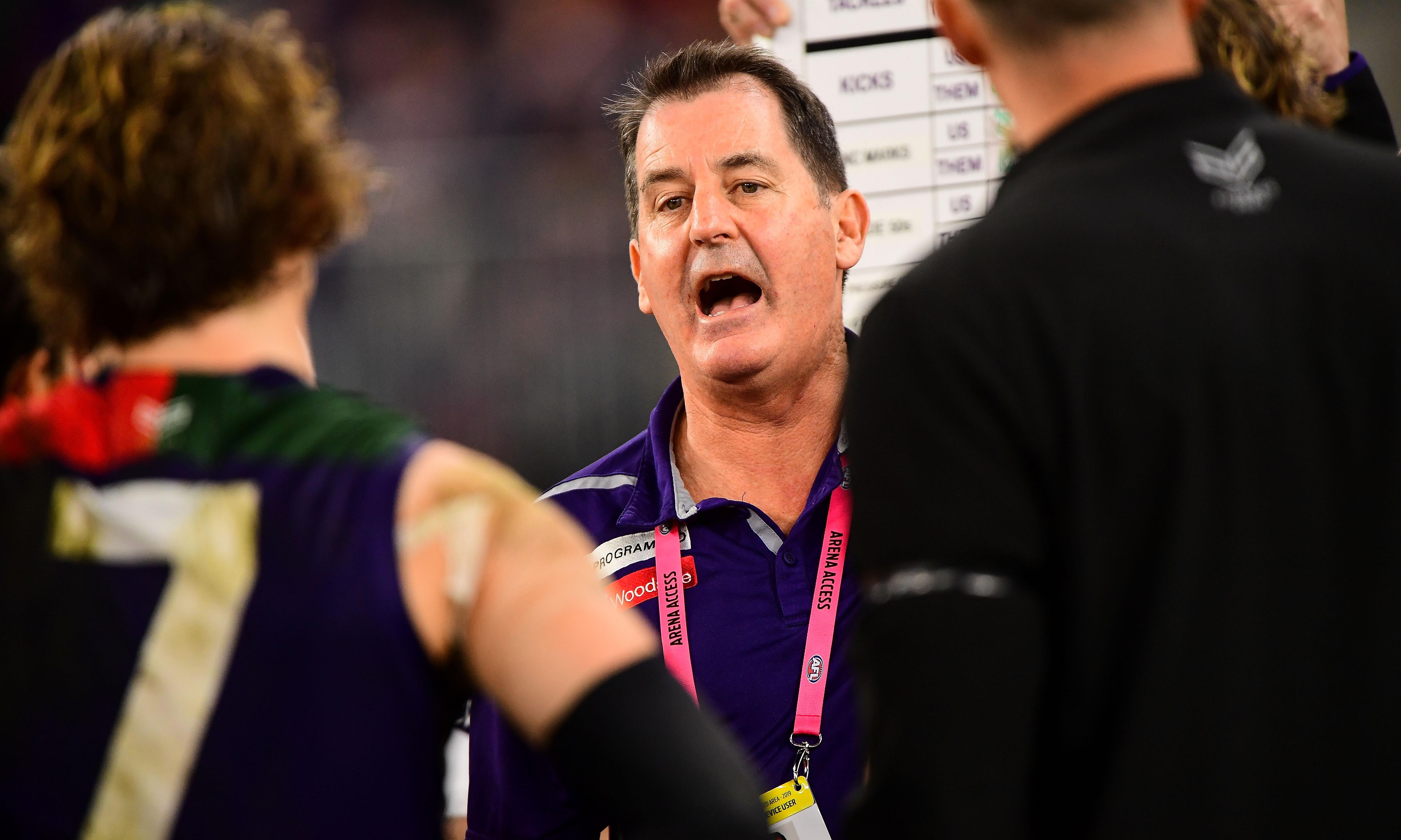 AFL coach Ross Lyon sacked by Fremantle