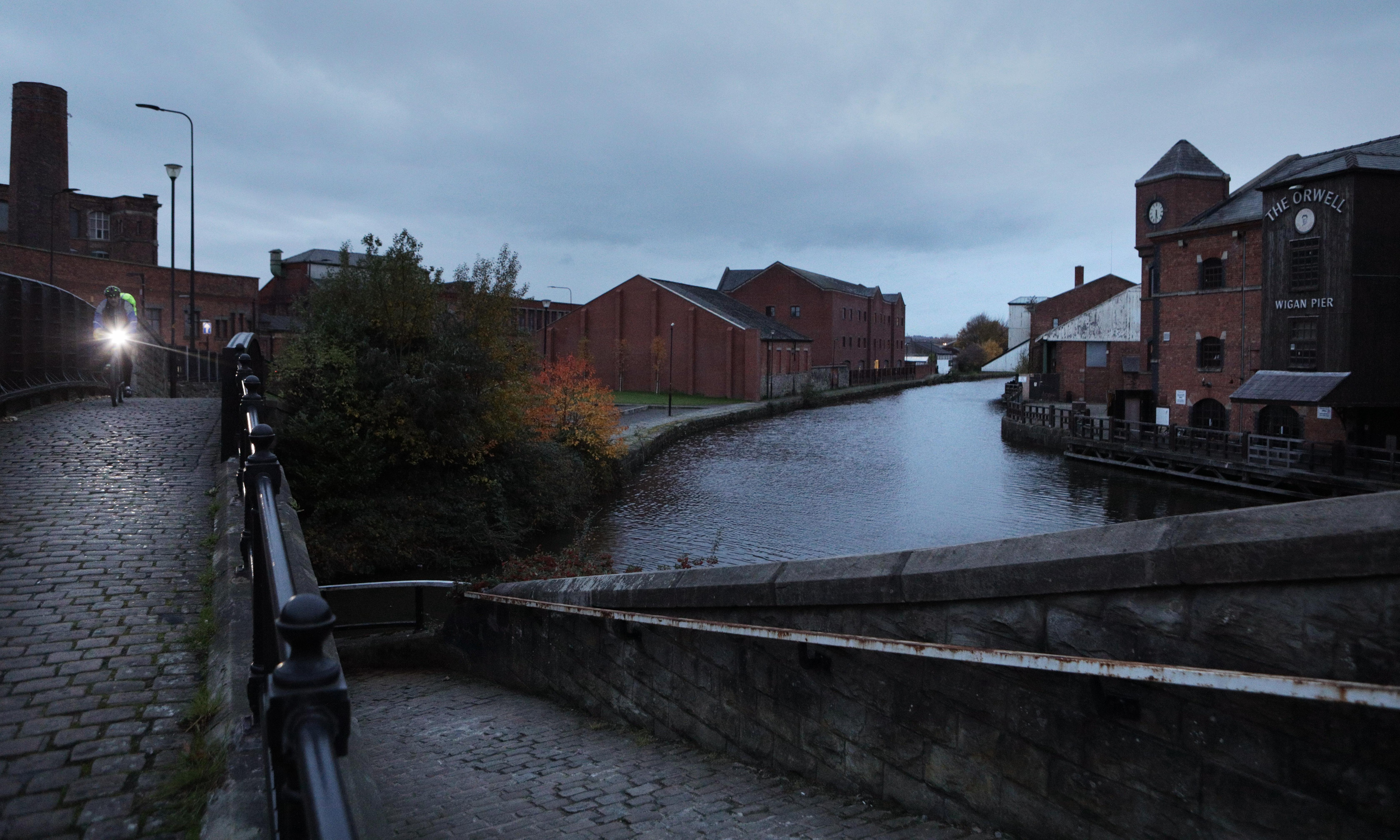 Wigan Pier to get makeover under new plans for site linked to Orwell