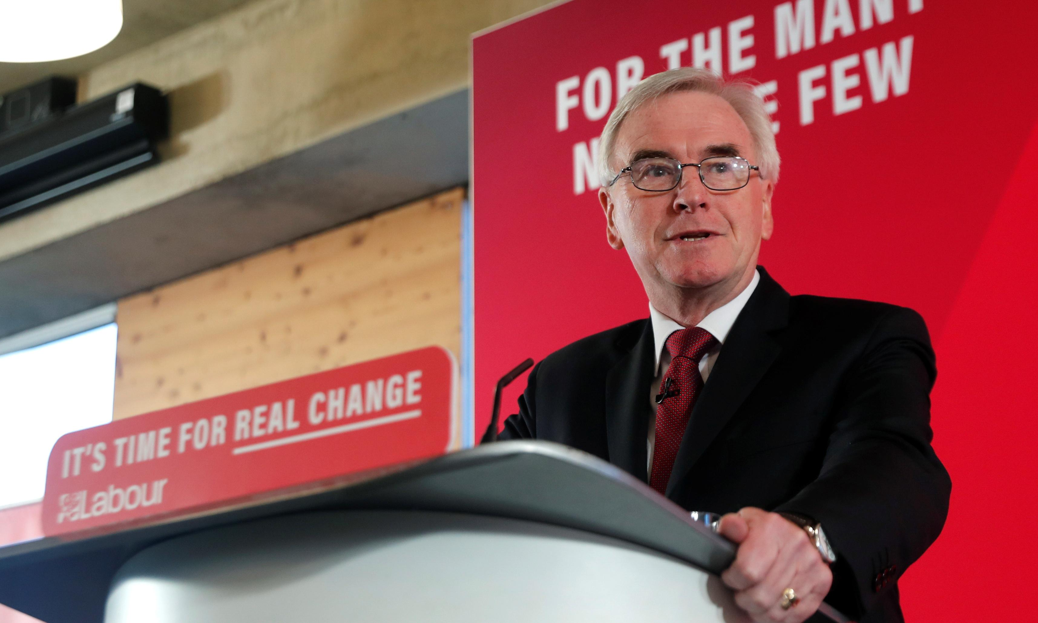 John McDonnell joins Arlene Foster in attack on PM 'you can't trust'