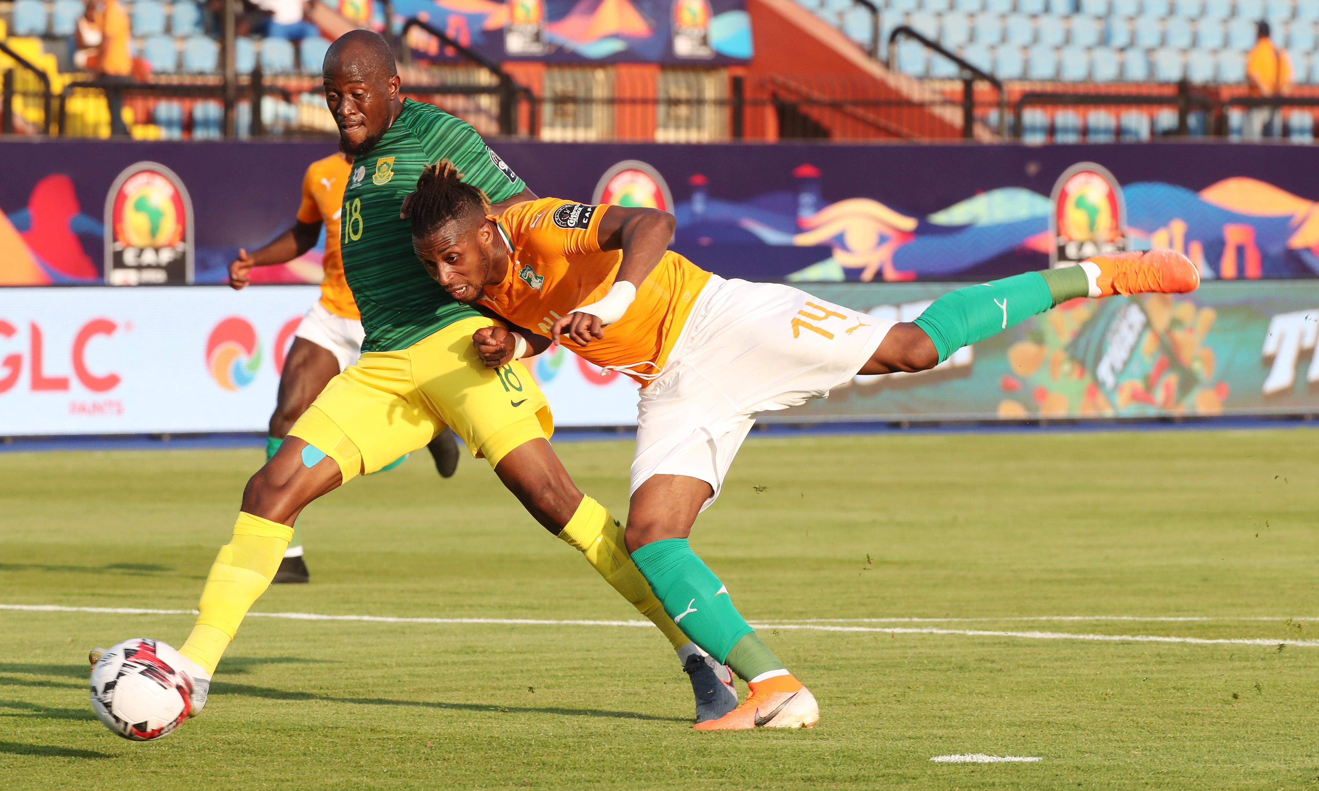 Ivory Coast off to winning start as Jonathan Kodjia sinks South Africa