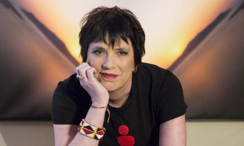 Eve Ensler for the Guardian New York, NY January 27, 2014 Photograph by Annabel Clark