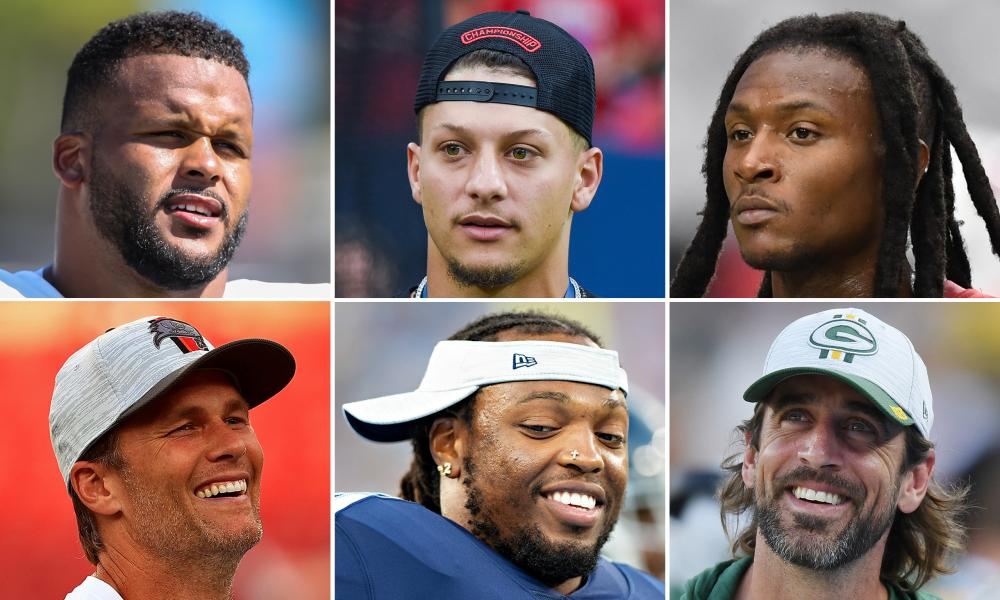 Aaron Donald, Patrick Mahomes, DeAndre Hopkins, Tom Brady, Derrick Henry and Aaron Rodgers are just some of the players who will make a splash this season