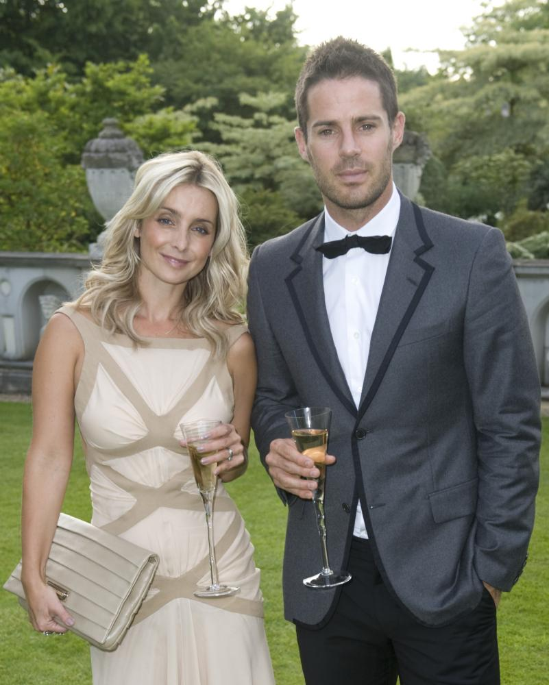 Louise and Jamie Redknapp in 2010