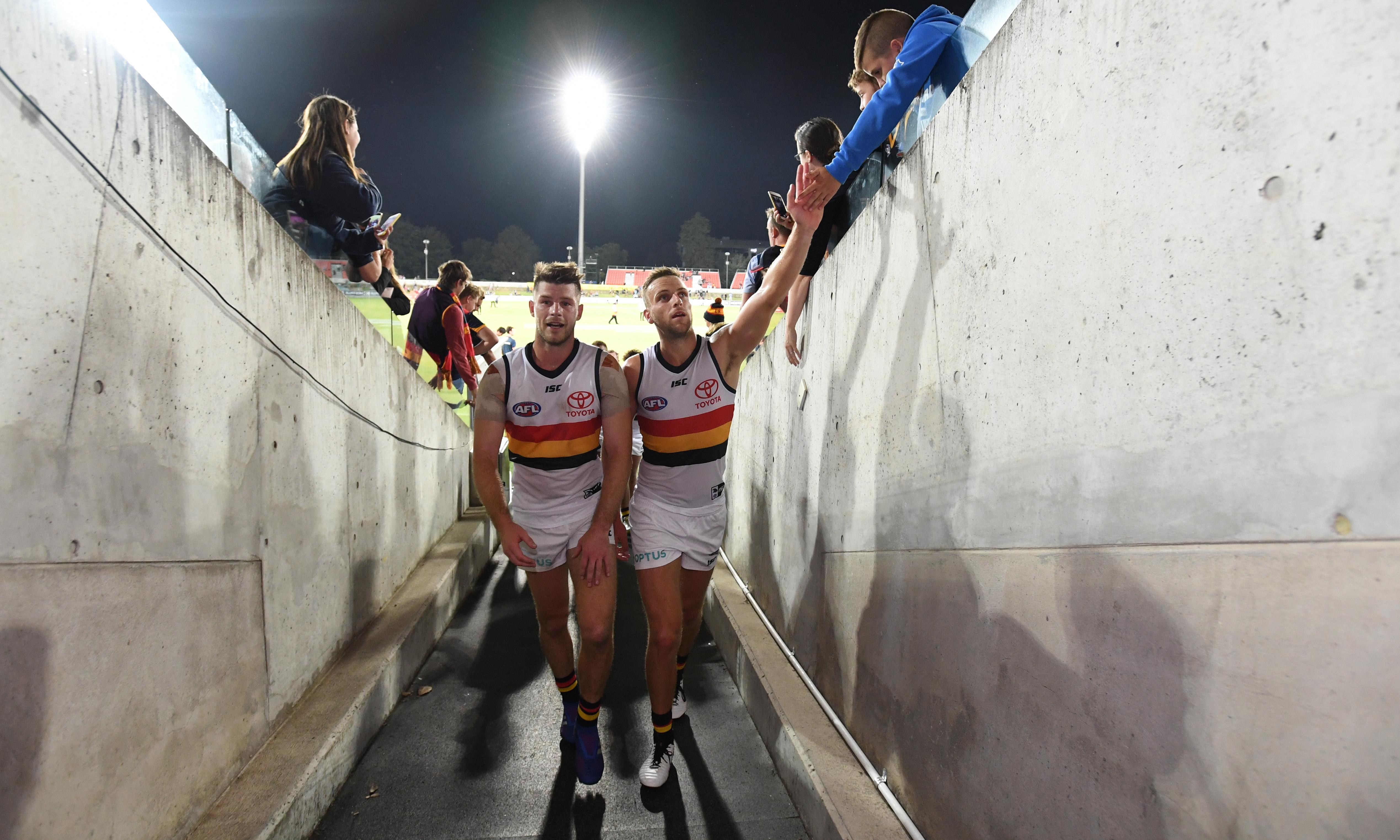 New AFL season met as much by relief as love for the game