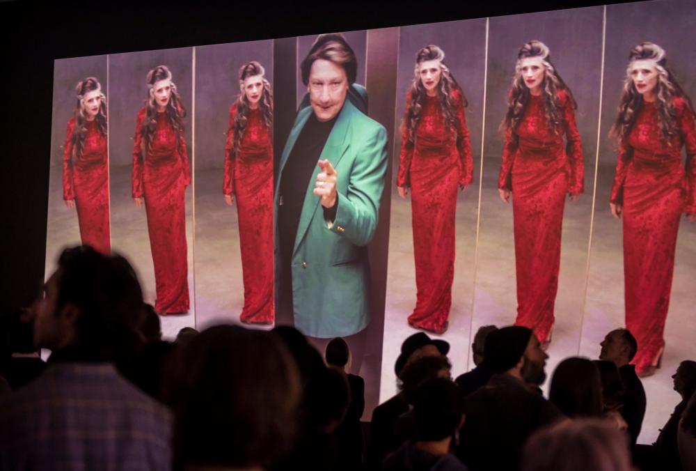 Empire, a Macbeth-inspired work by Matías Umpierrez, starring his mentor Robert Lepage.