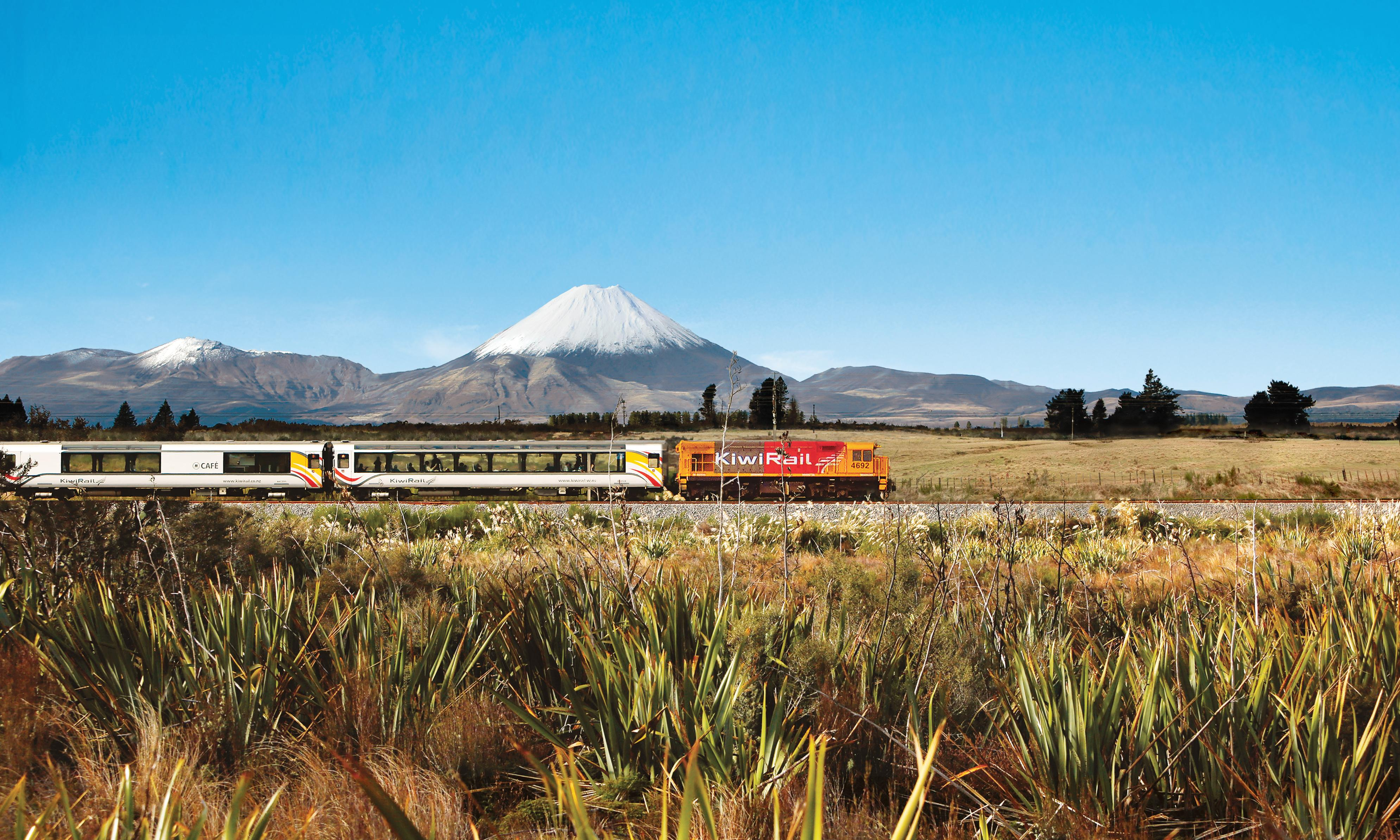 Passing panorama: New Zealand's glory from a train window