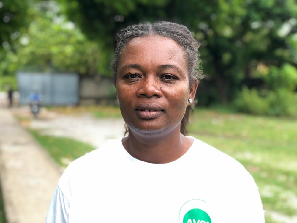 Ketia Loraus, a social worker