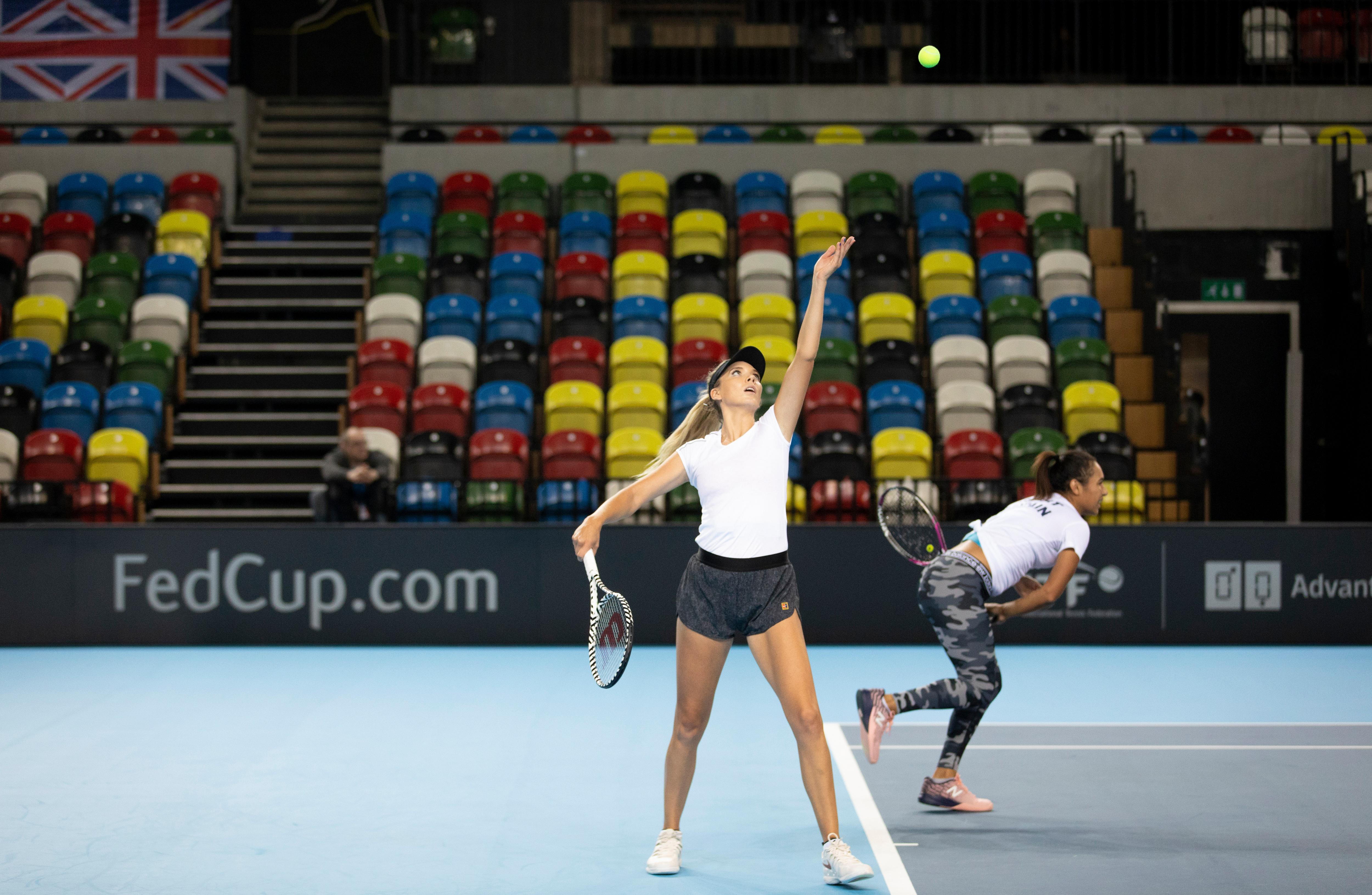 GB look to tear up old script in Fed Cup as tennis heads to new venue