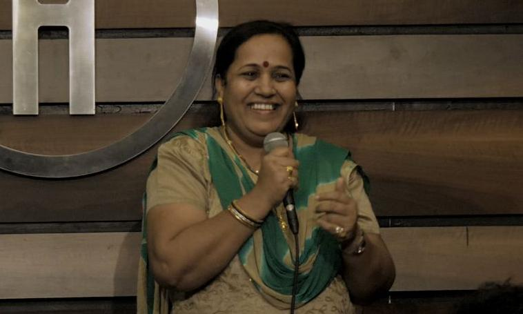 'No madam can scare me': maid turned comedian mocks India's elite
