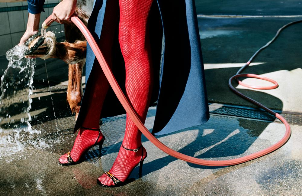 Hot to trot … an image from Gucci's SS20 campaign.