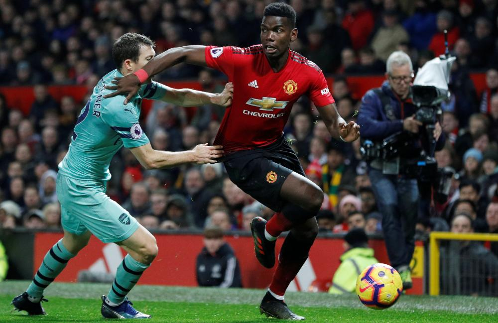 The most notable boos at Old Trafford against Arsenal on Wednesday were reserved for the introduction of Paul Pogba.