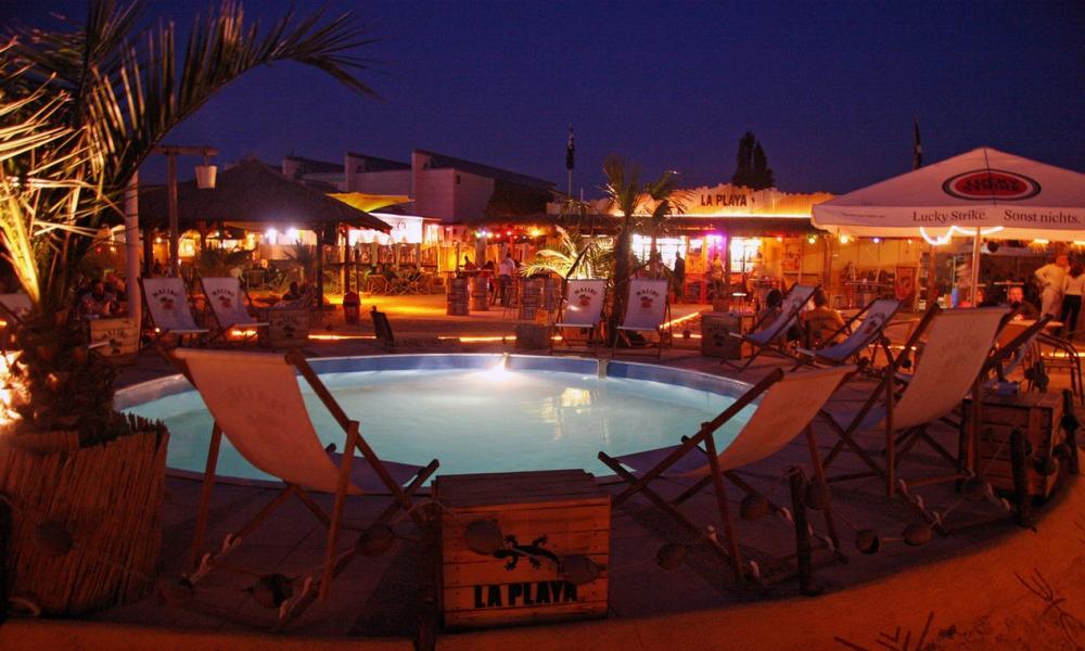 La Playa beach club in Leipzig