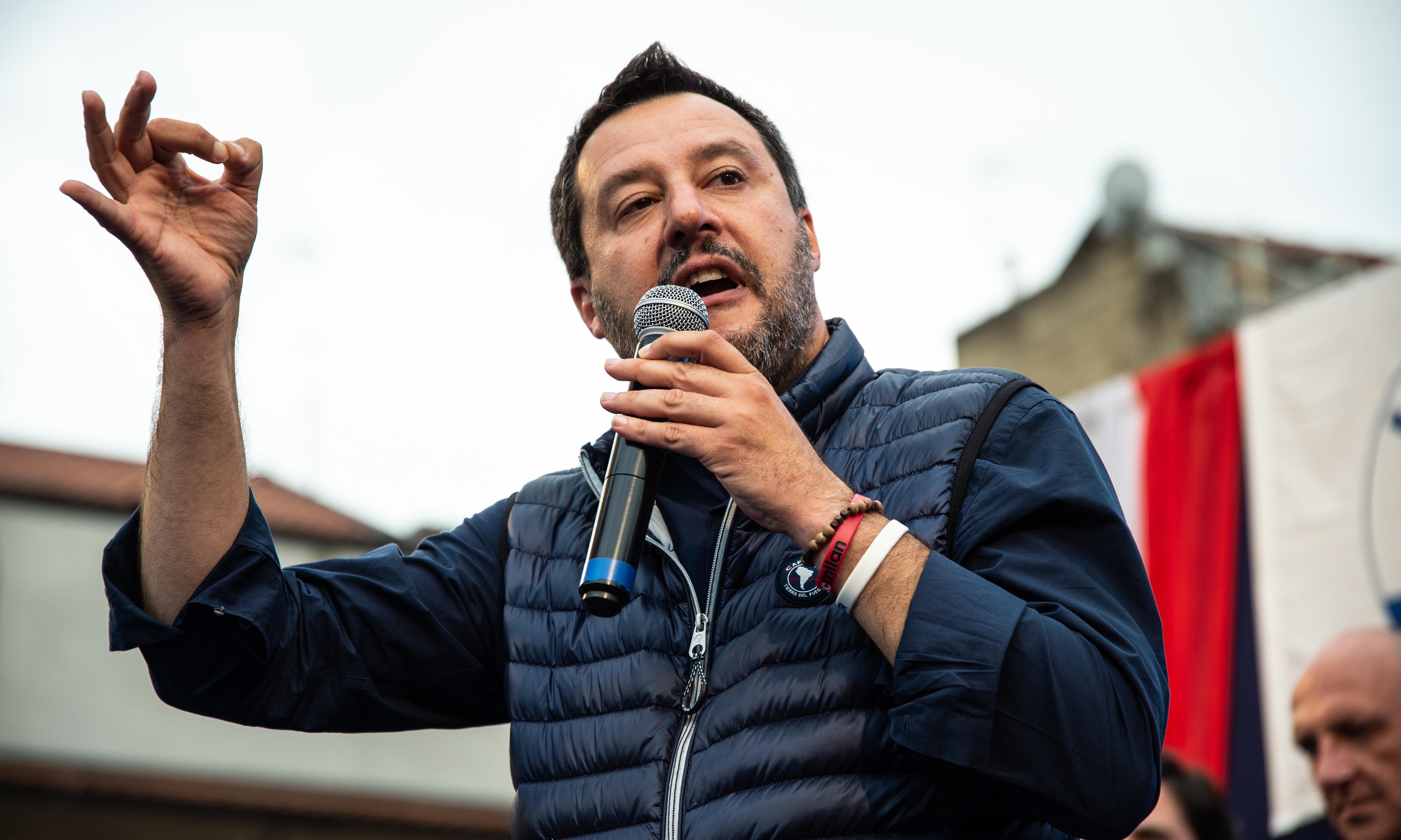 Matteo Salvini seeks closer Washington ties as EU tensions rise