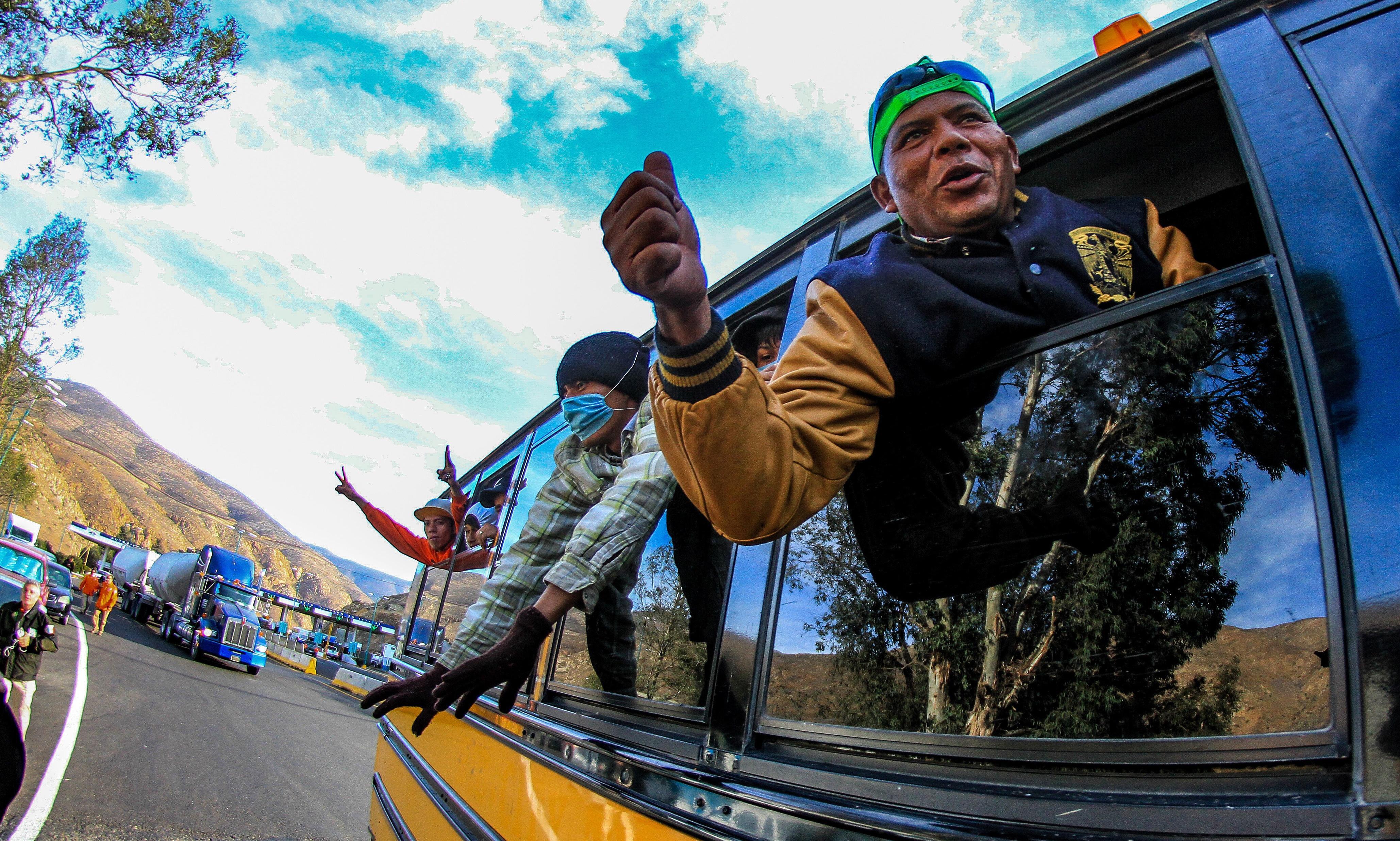 'Get out of Tijuana': migrants face racist backlash as caravan reaches US border