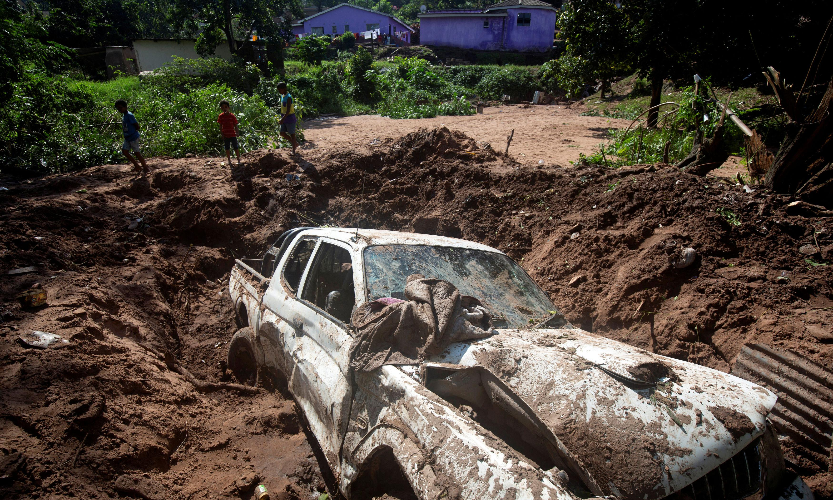 'I don't recall that in history': shock as South Africa mudslides kill 70