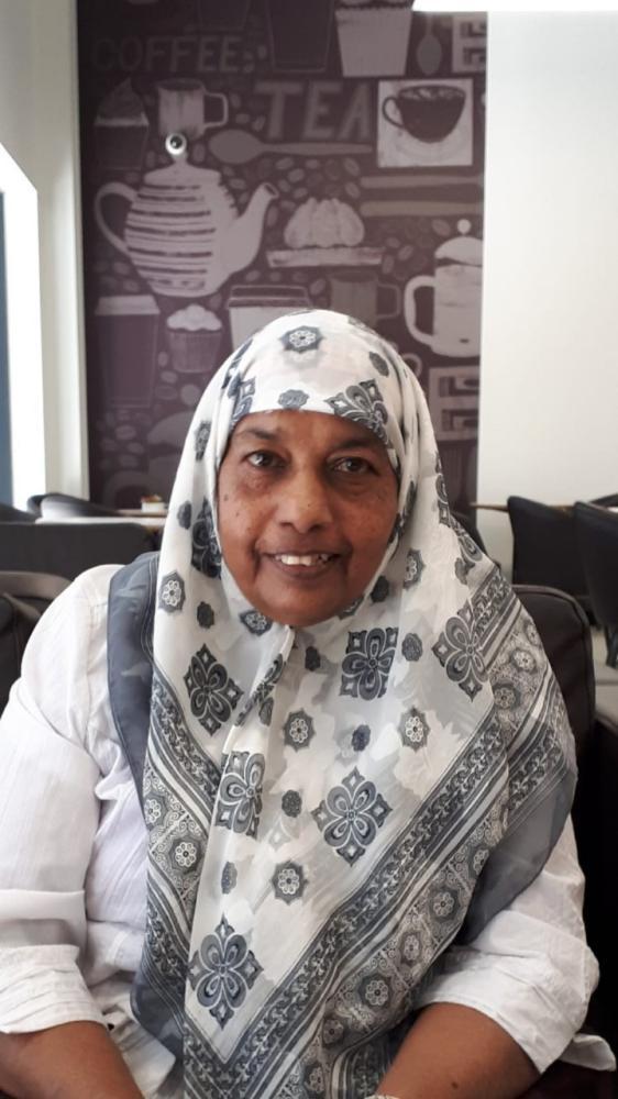 Care home nurse Rahima Bibi Sidhanee, who died of coronavirus in April