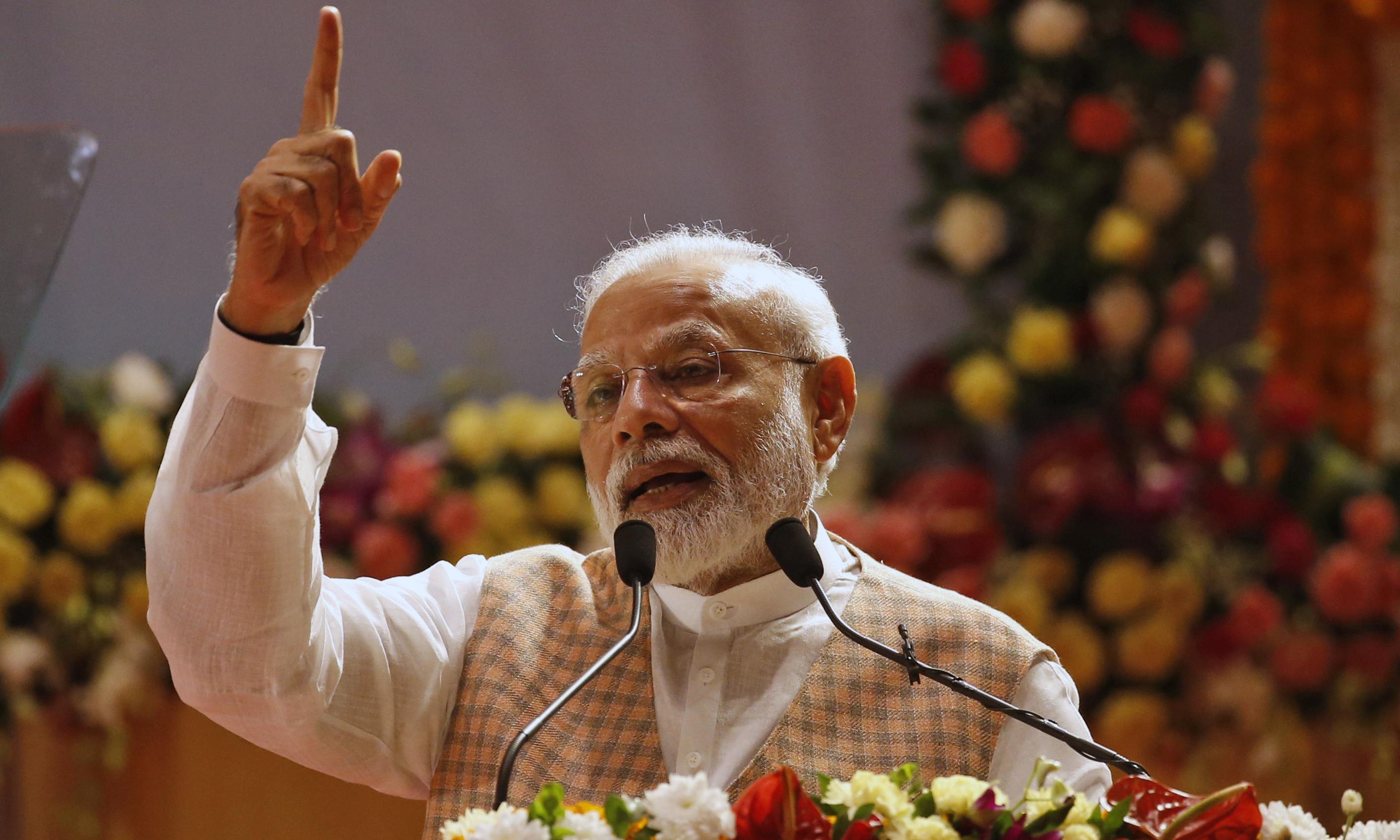 Bill and Melinda Gates Foundation under fire over award for Narendra Modi