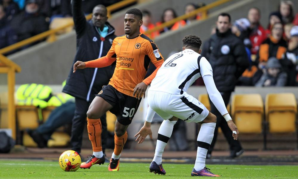 The Portugal midfielder Ivan Cavaleiro, left, was bought by Wolves from Monaco in a deal in which Jorge Mendes's influence was clearly evident.