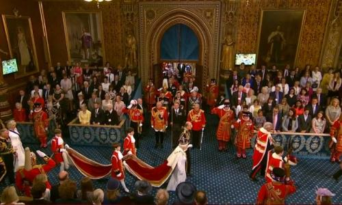 Queen in the Lords.