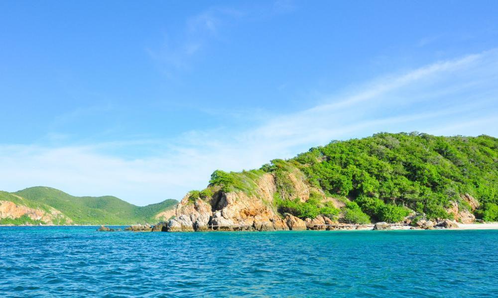 Koh Kham island, Chonburi Province, Thailand.