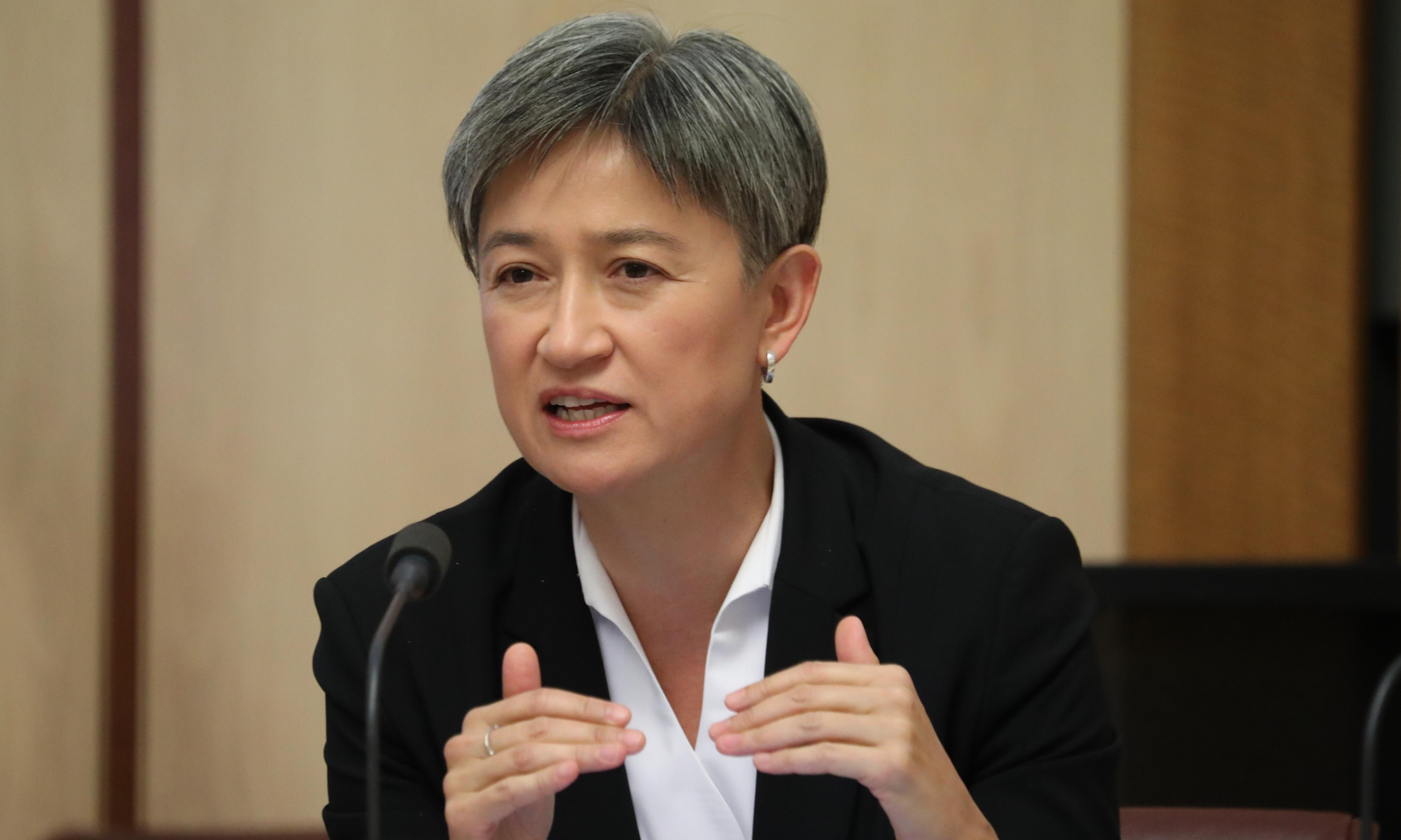 'Disturbingly lightweight': Penny Wong targets Morrison over China and 'negative globalism'