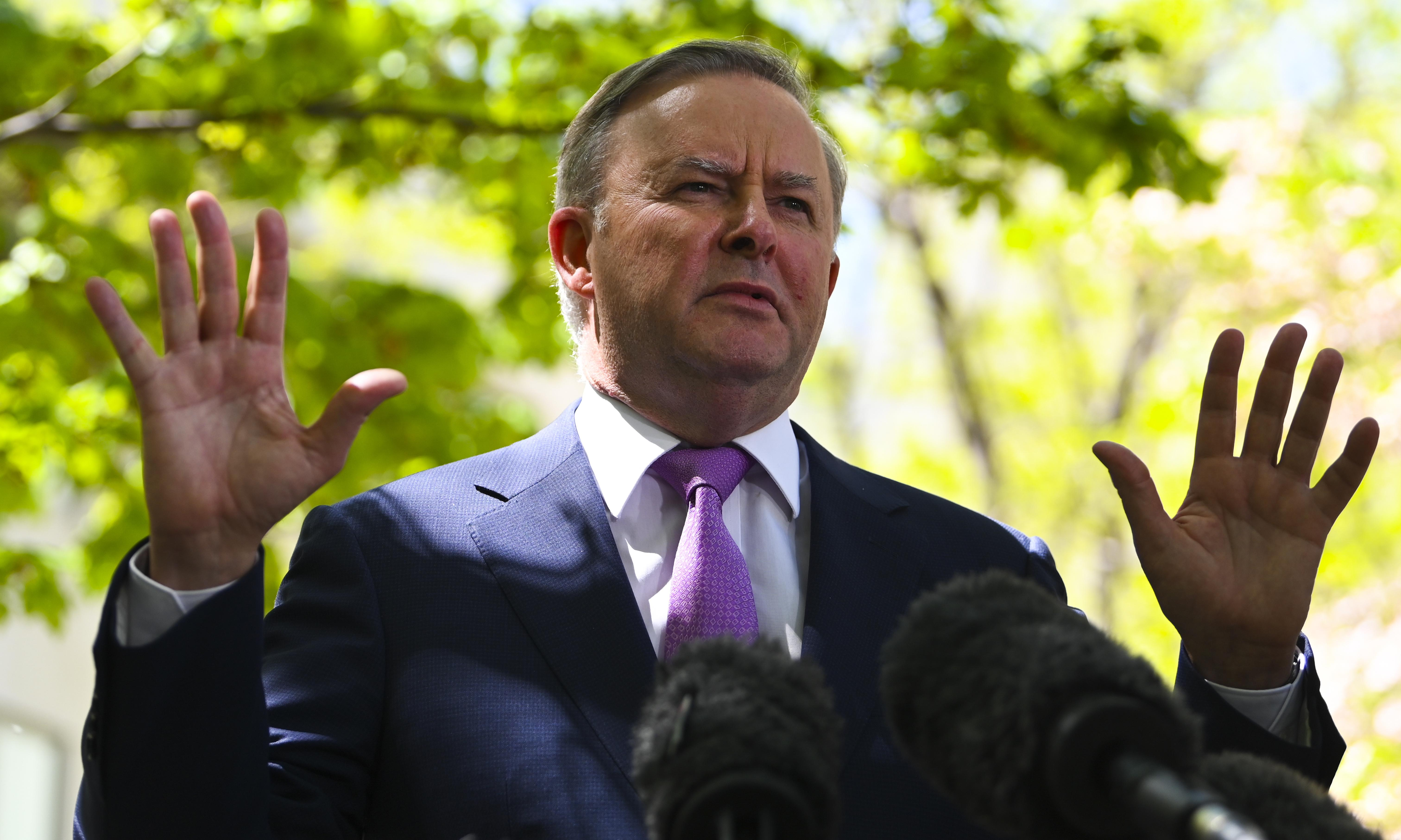 Anthony Albanese confirms Labor backflip to support 'big stick' energy laws
