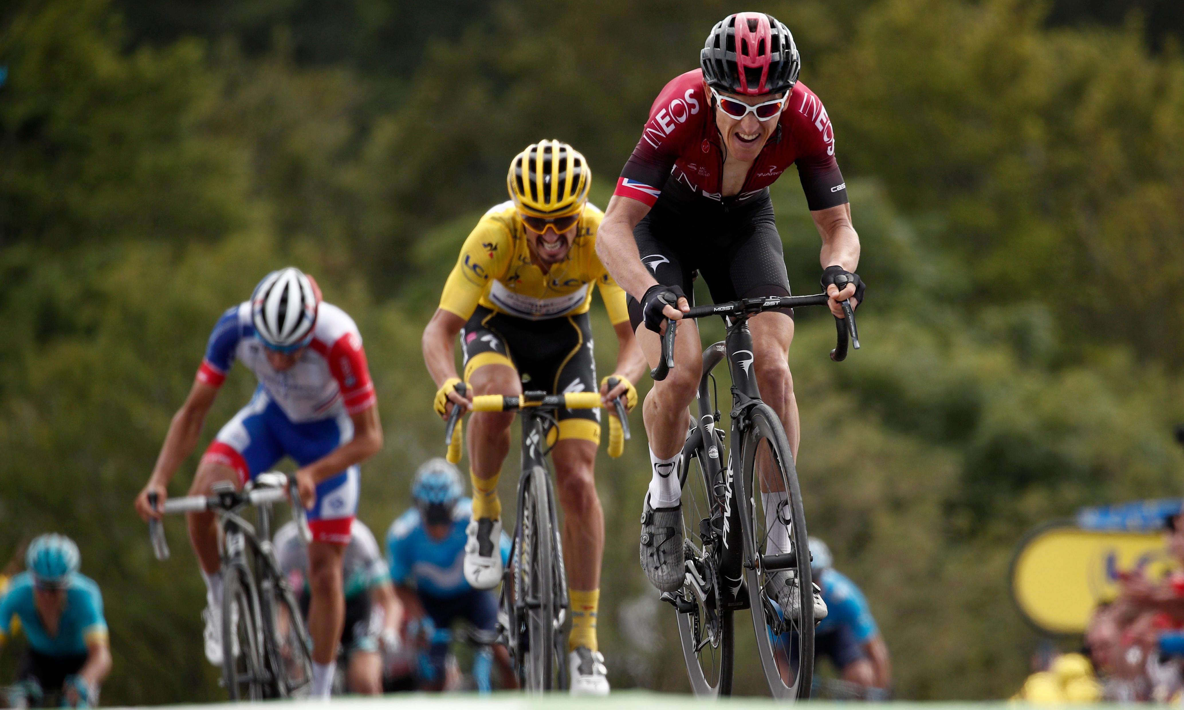 Tour de France: Thomas makes statement but Ciccone takes yellow