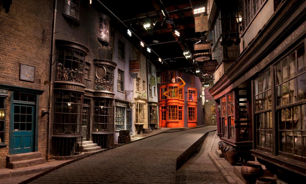 Diagon Alley, The Making of Harry Potter, Warner Bros Studio Tour, London