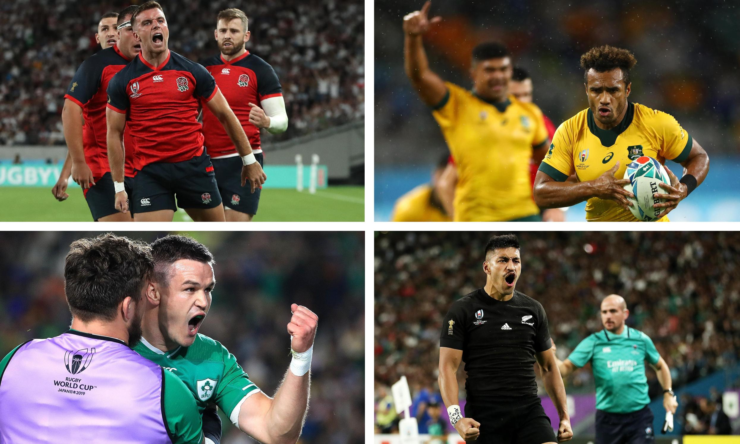 Rugby World Cup: how the quarter-finalists shape up
