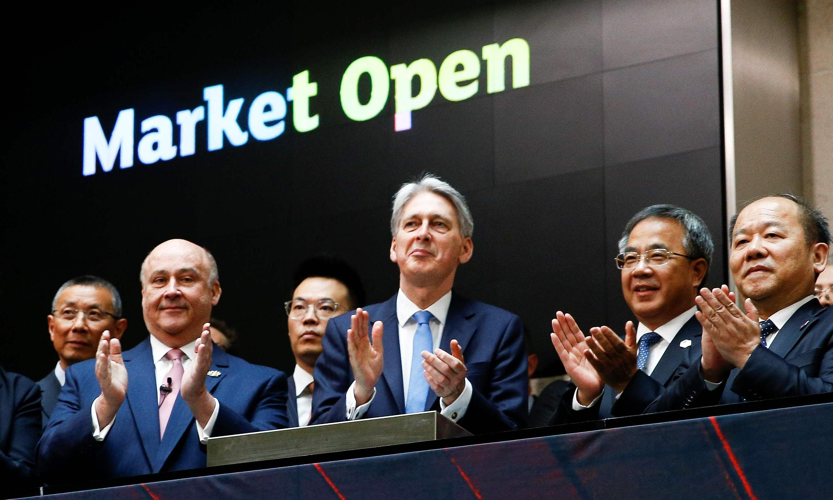 Hammond 'aware of the risks' trading with China, but presses on