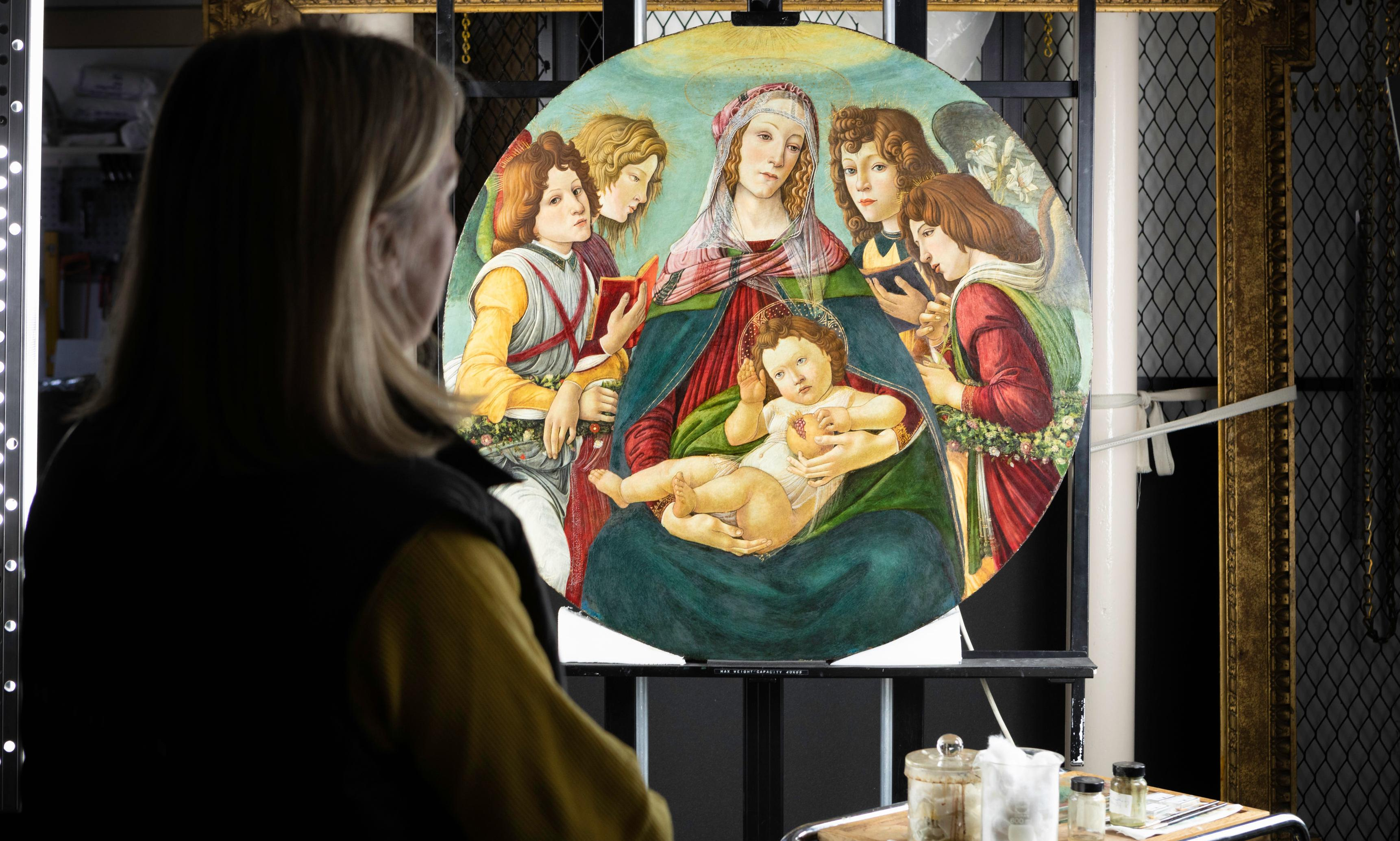 Botticelli 'copy' found to be rare original from artist's workshop