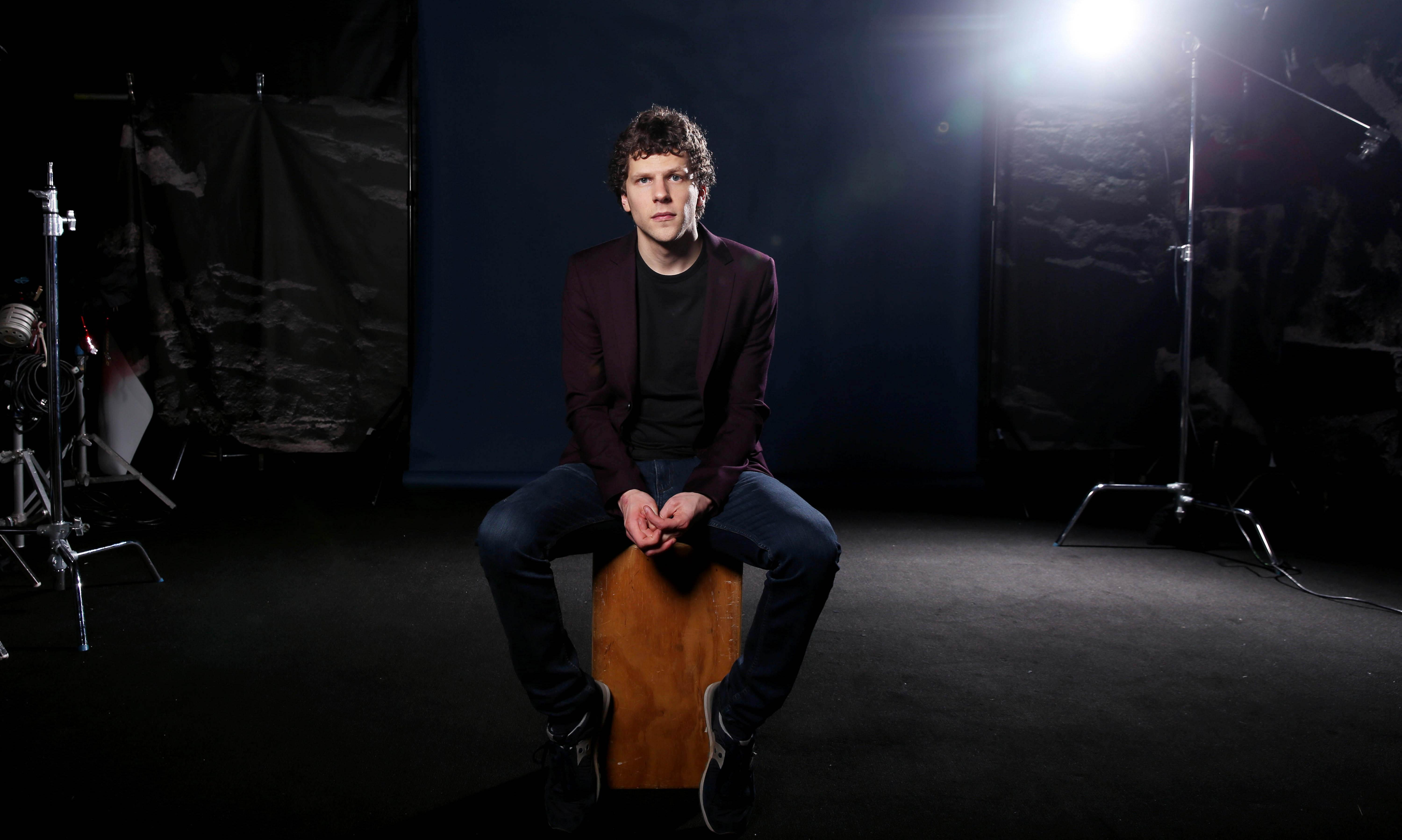 Jesse Eisenberg on Woody Allen, anxiety and fatherhood: 'Now I get to worry about something visible'