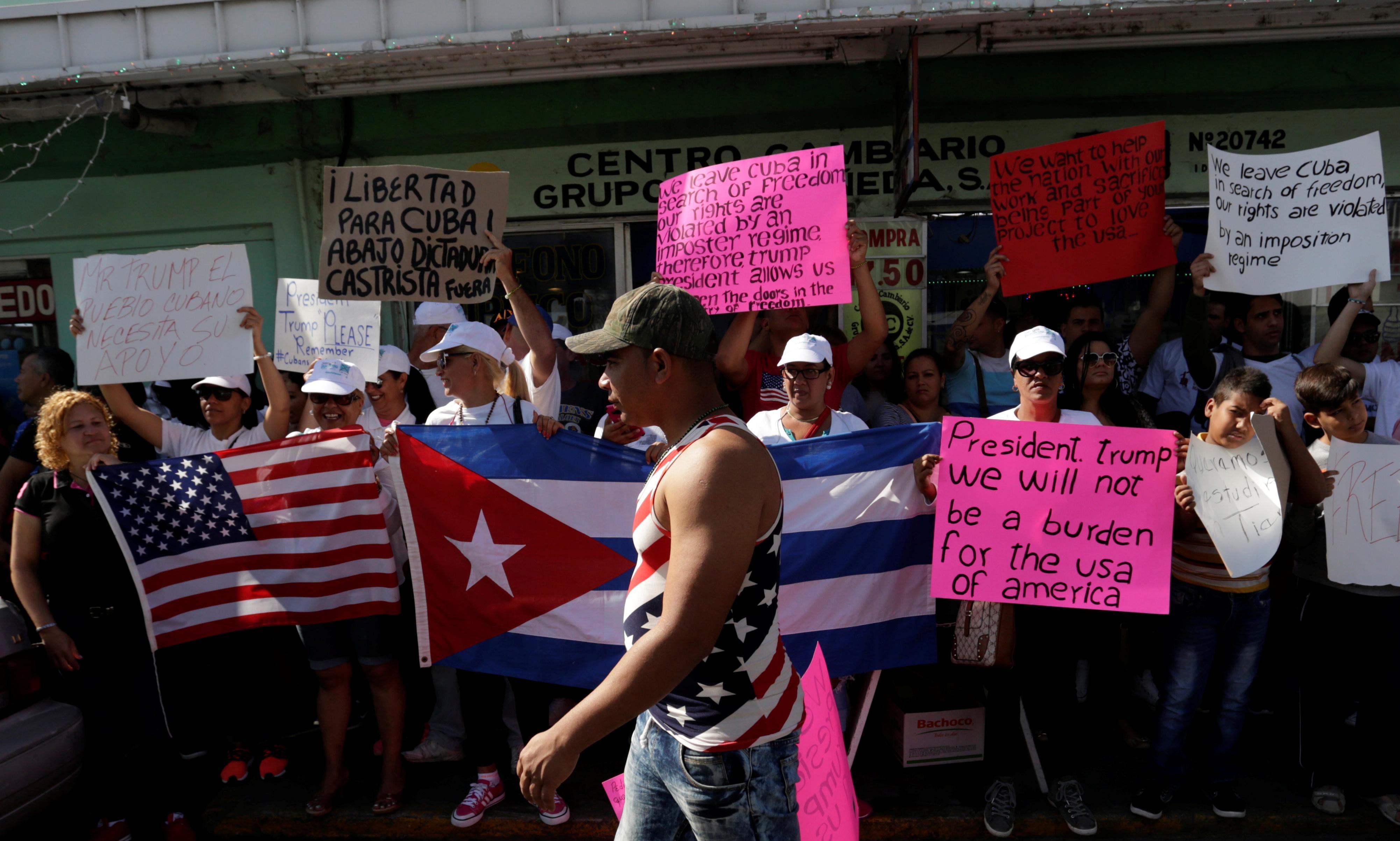 More Cubans seek asylum in Mexico amid clampdown on legal path to US