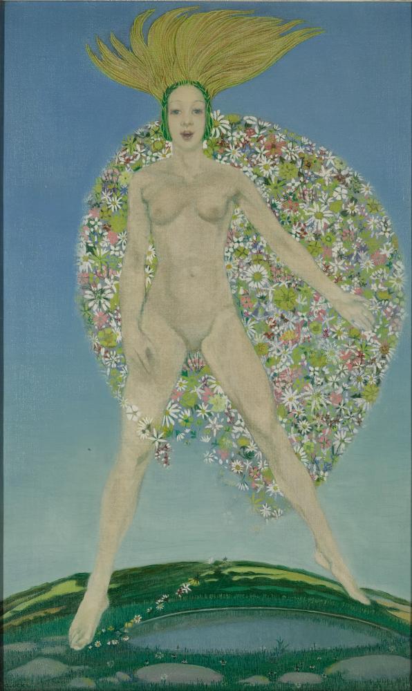 Gluck, Flora's Cloak, circa 1923.