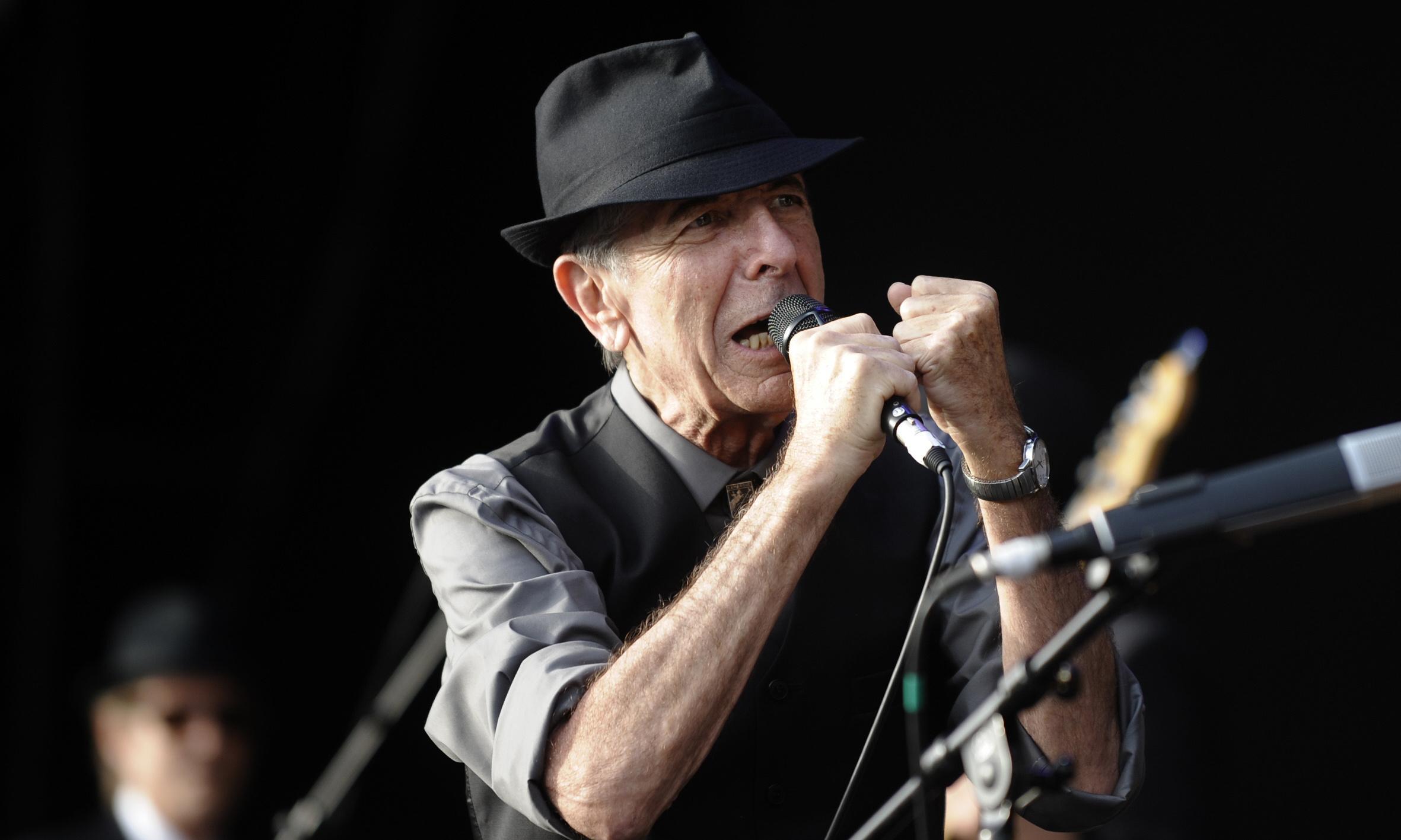 Thanks for the Dance: posthumous Leonard Cohen album announced