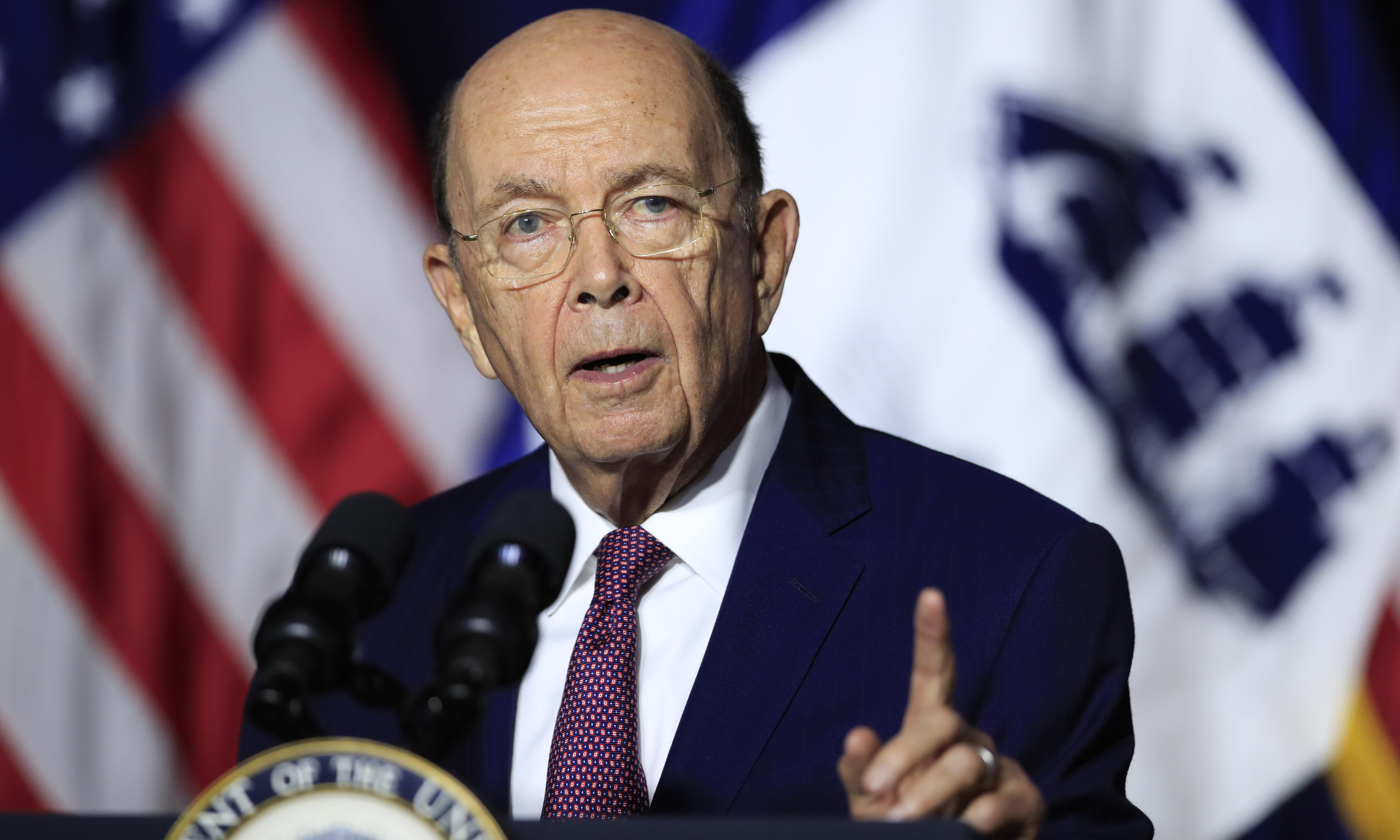Wilbur Ross faces calls to resign after report he threatened firings over 'Sharpiegate'
