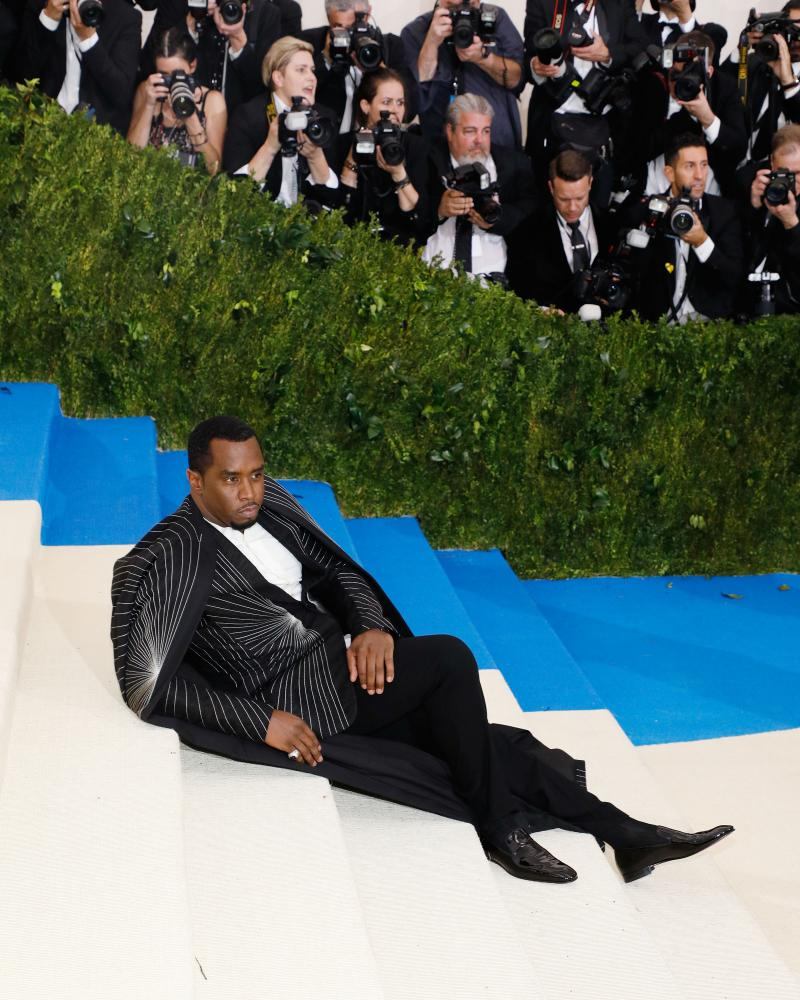 Sean Diddy Combs taking it easy.
