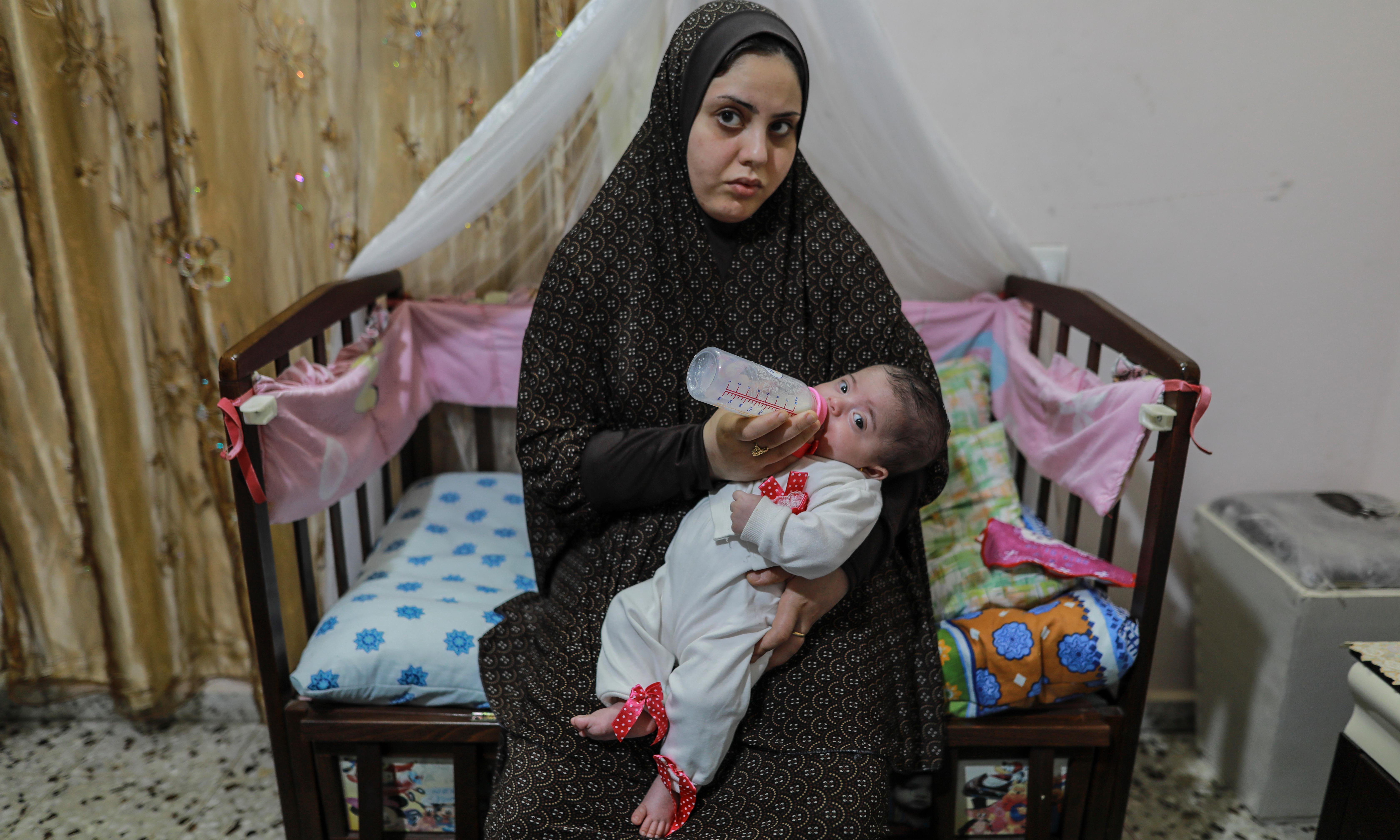 A Jerusalem hospital where Palestinian babies die alone