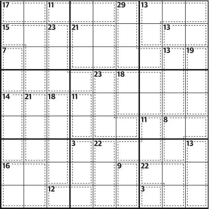 Killer sudoku 693