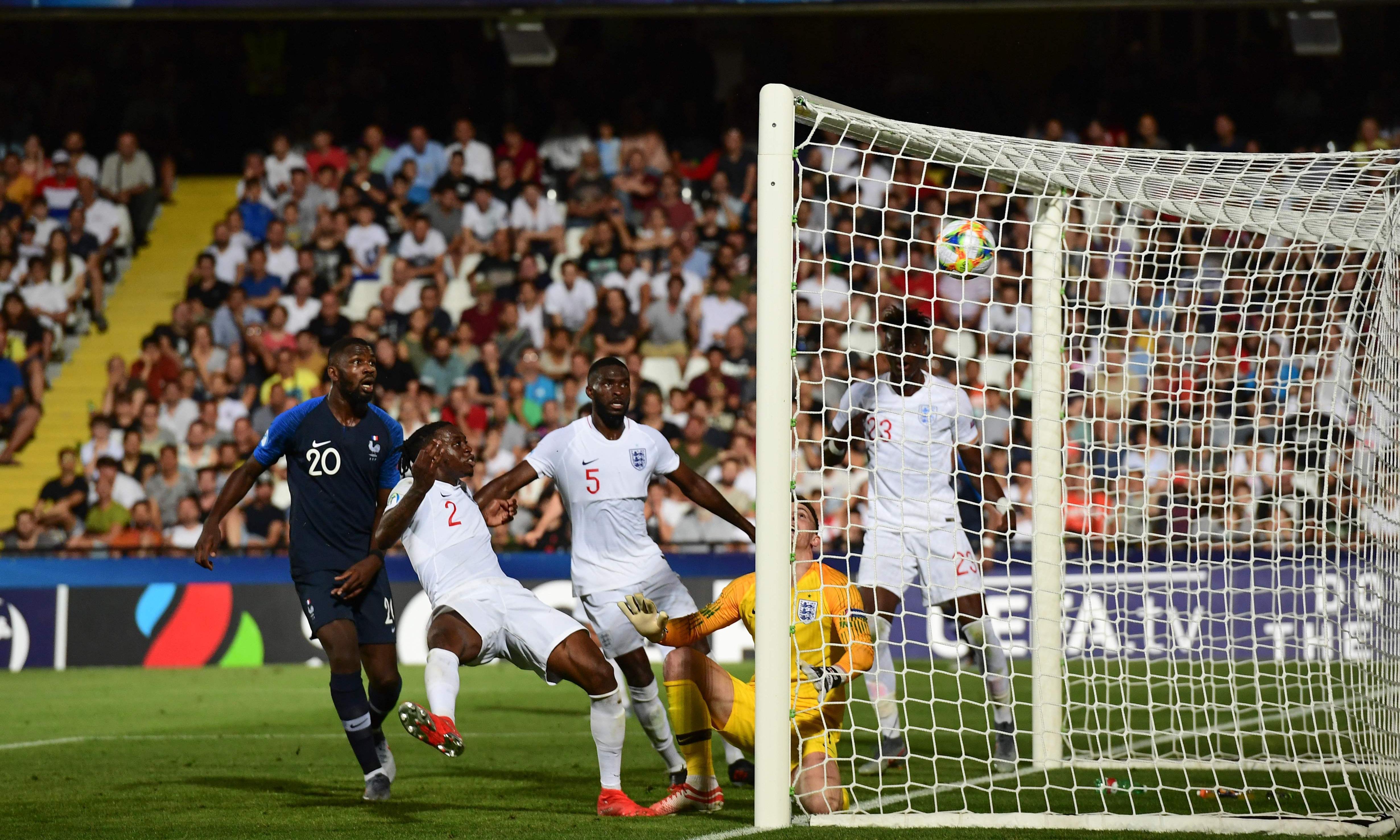 England's Wan-Bissaka gifts France win at U-21 Euros despite penalty misses
