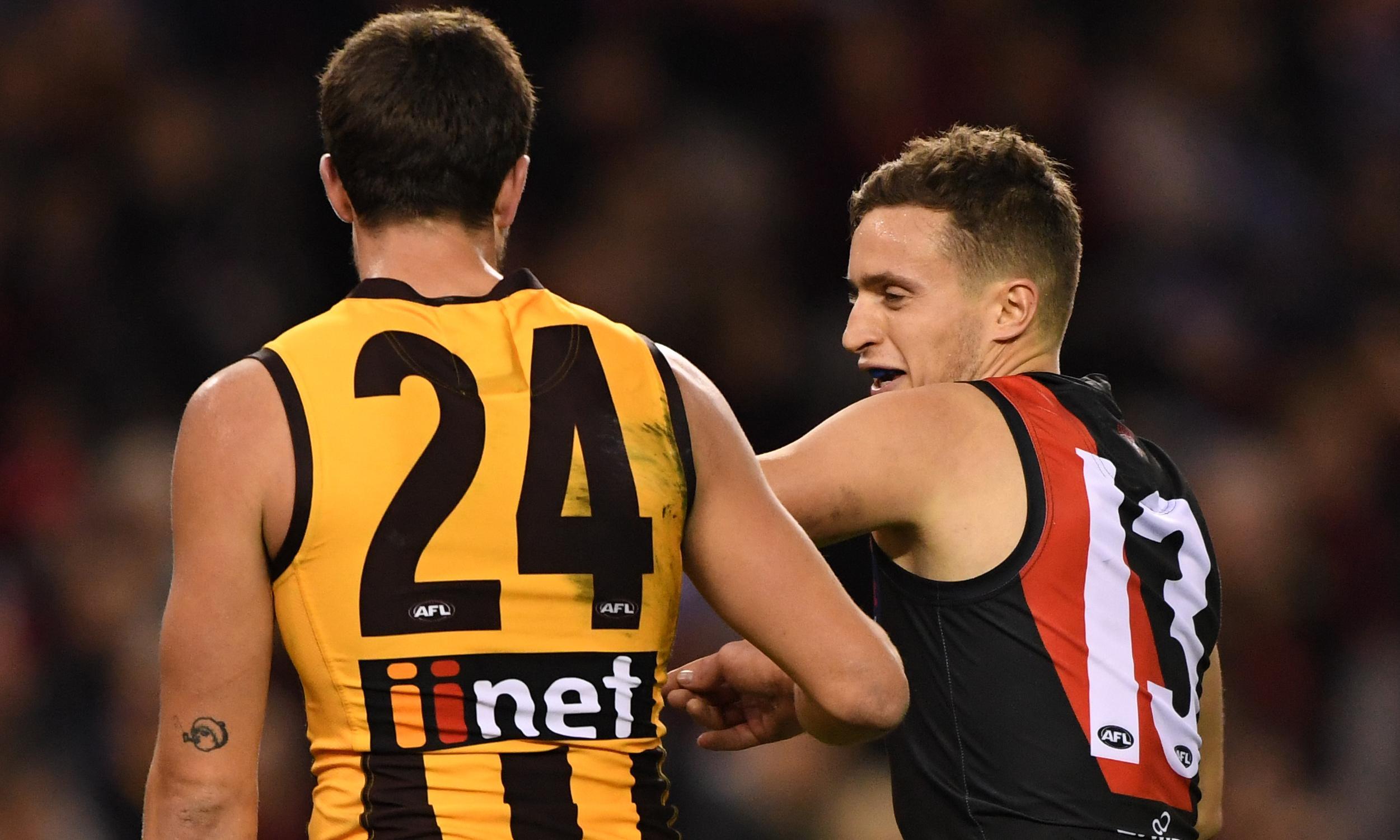 Orazio Fantasia feels the pinch as Stratton's schoolyard tactics raise AFL eyebrows