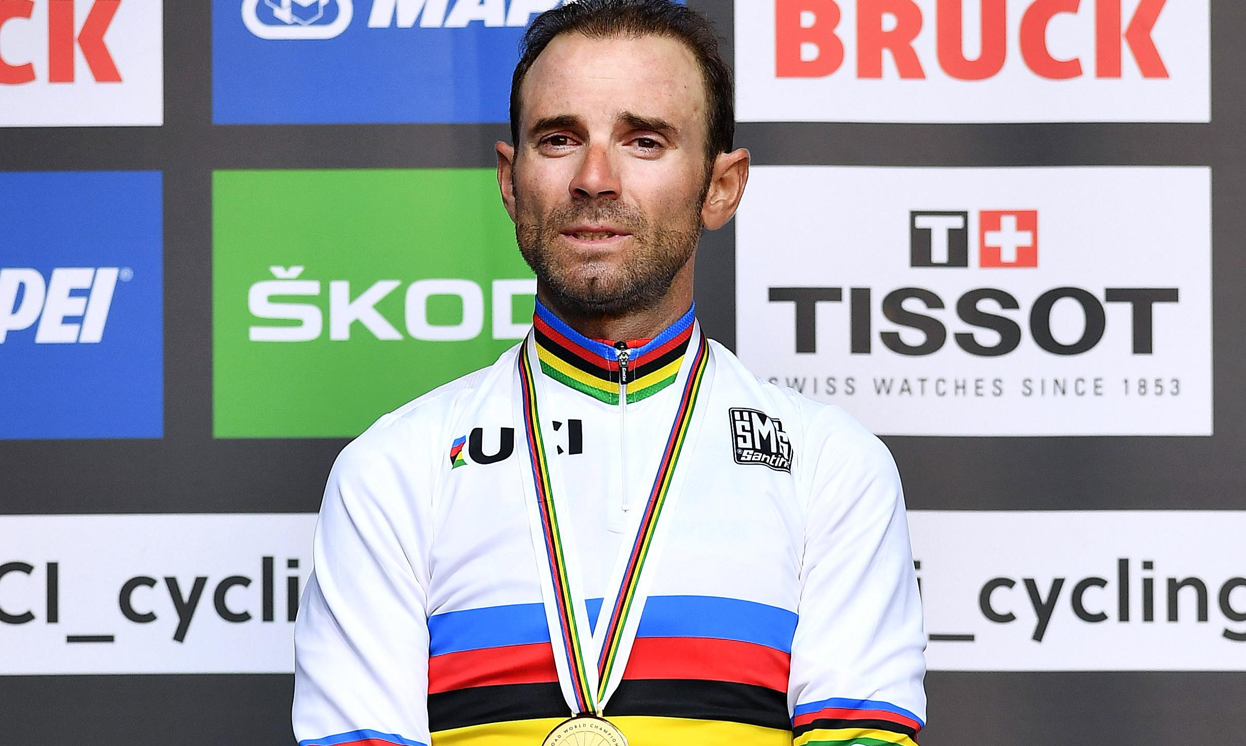 Evergreen Alejandro Valverde triumphs in Road World Championships