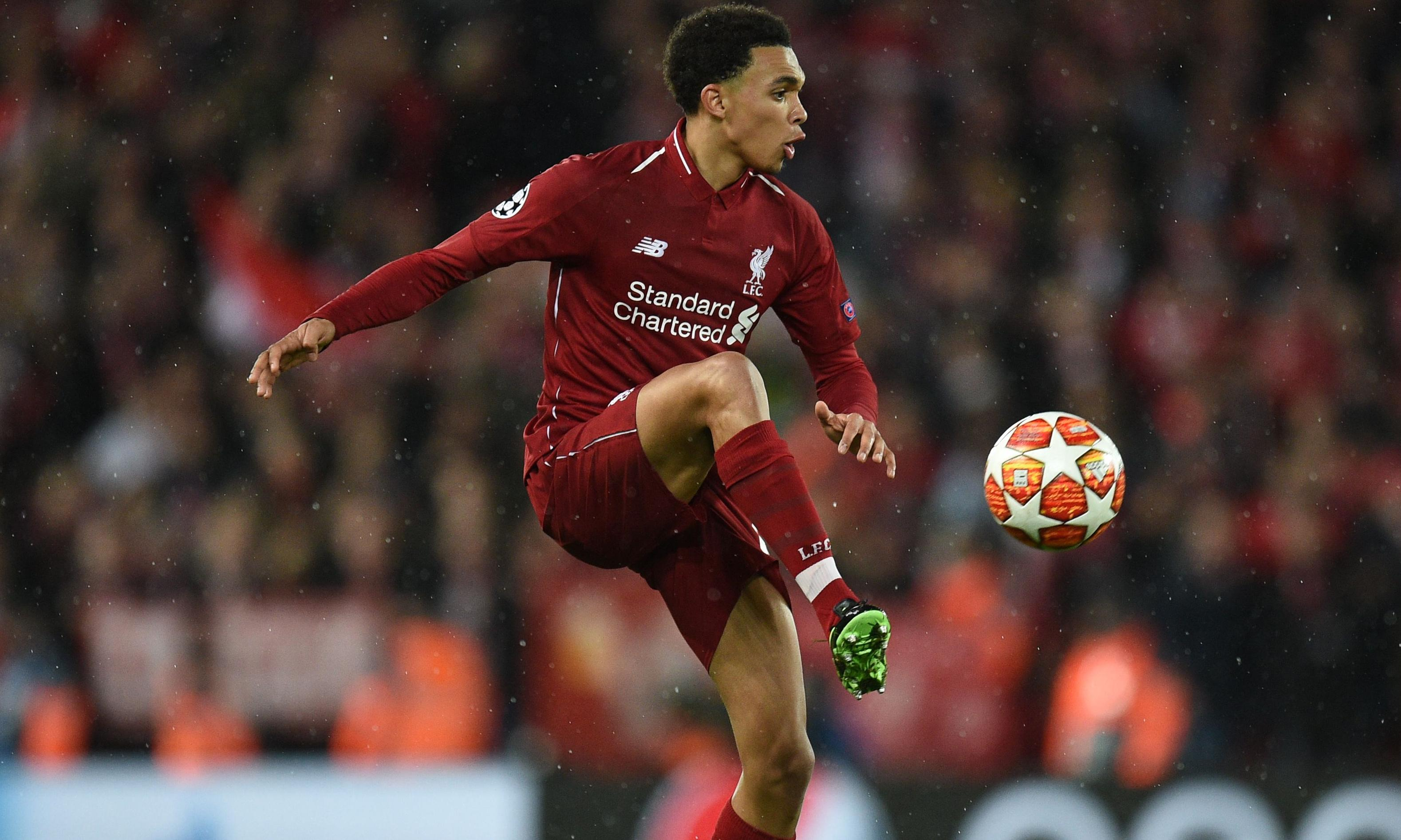 Alexander-Arnold: 'I use last year's loss at United as a learning point'