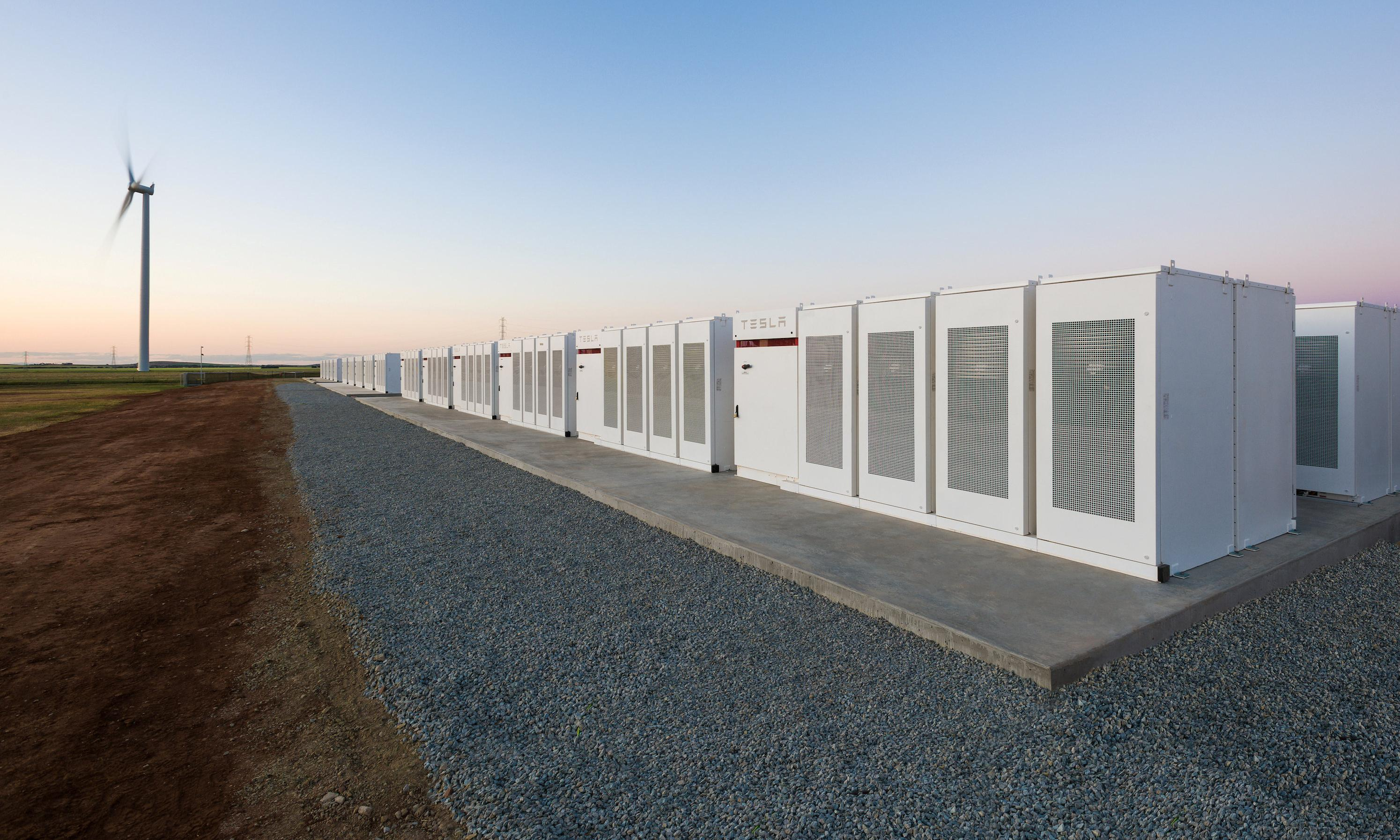Tesla big battery is holding its own in a burgeoning energy storage market